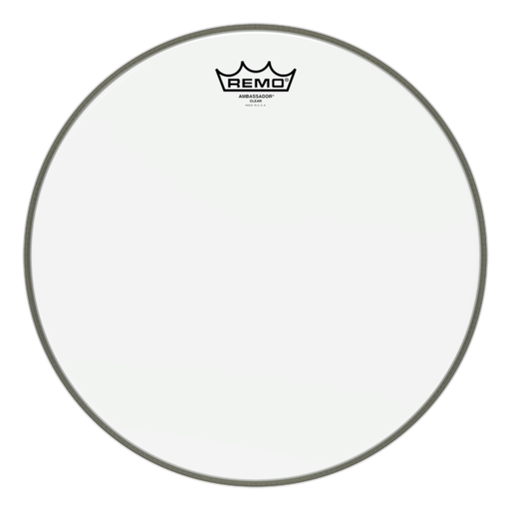Remo Remo Clear Ambassador Bass Drum