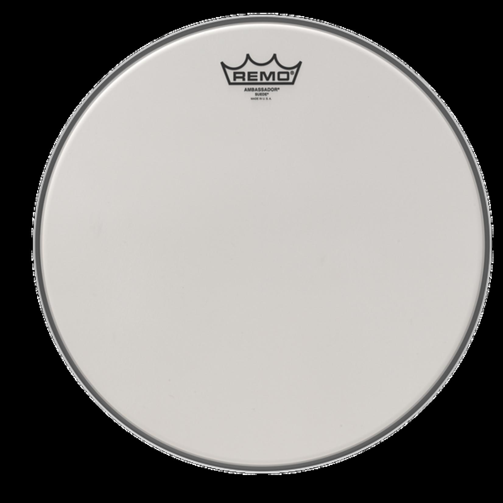 Remo Remo Suede Ambassador Bass Drum