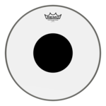 Remo Remo Smooth White Controlled Sound Black Dot on Top