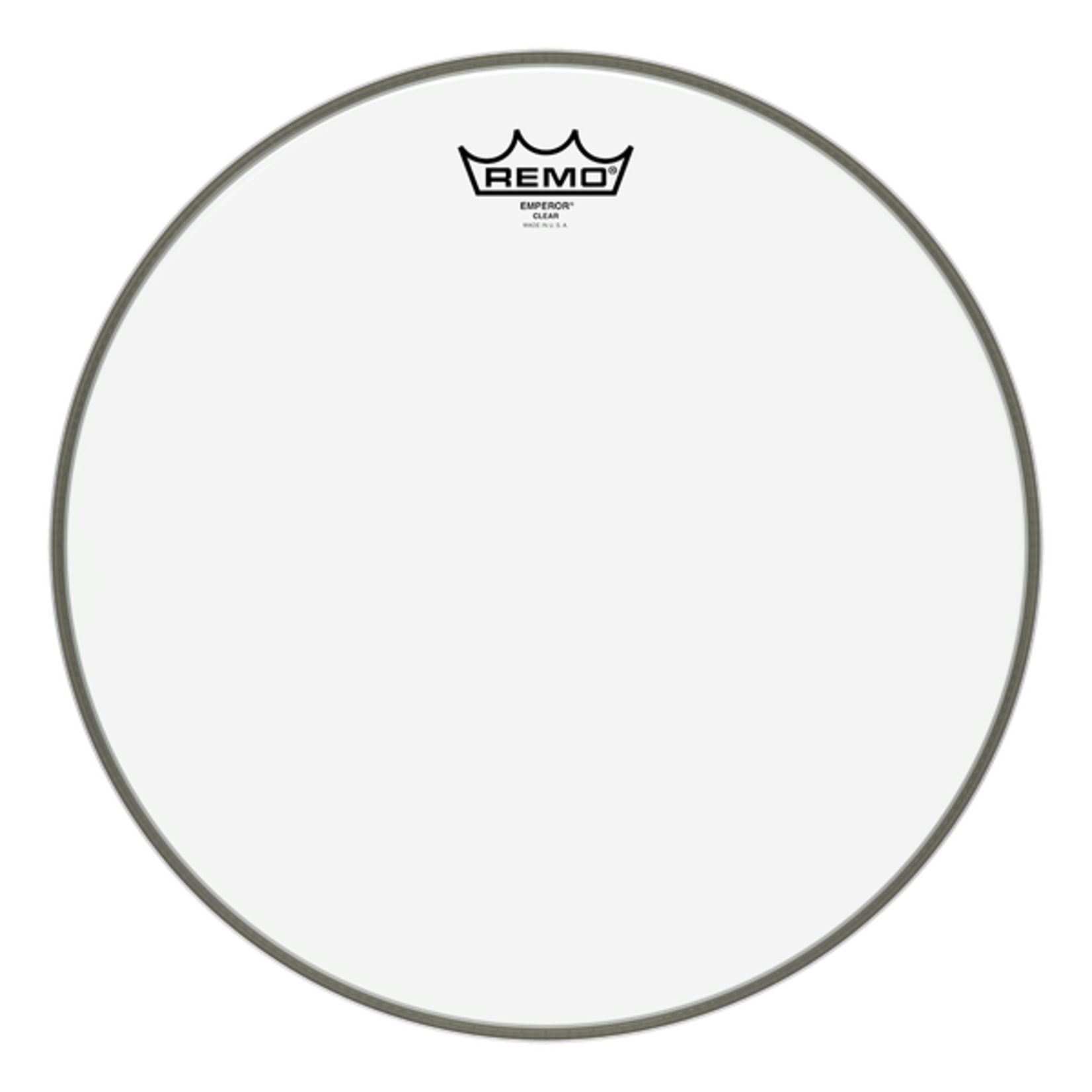 Remo Remo Clear Emperor Bass Drum