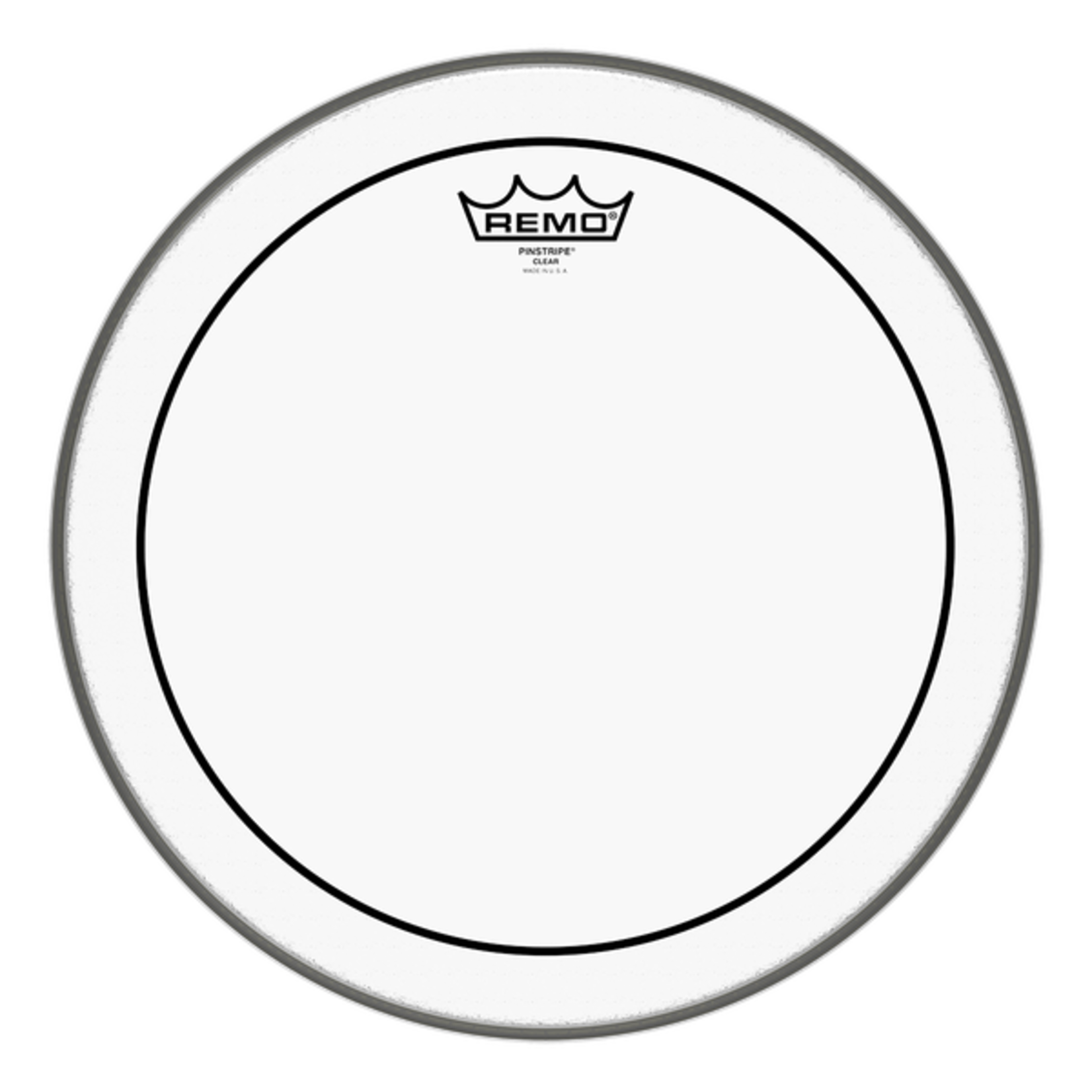 Remo Remo Clear Pinstripe Bass Drum