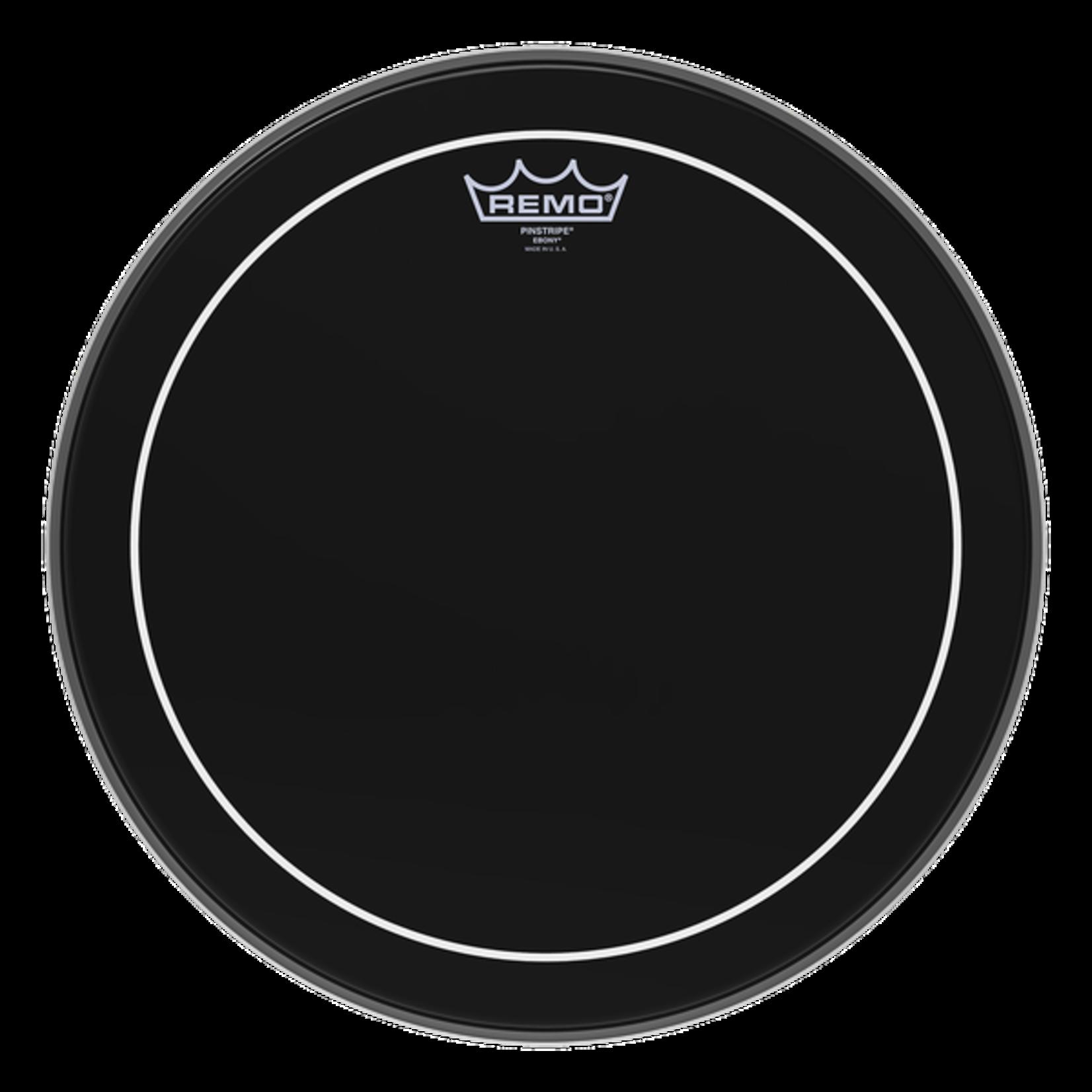 Remo Remo Ebony Pinstripe Bass Drum