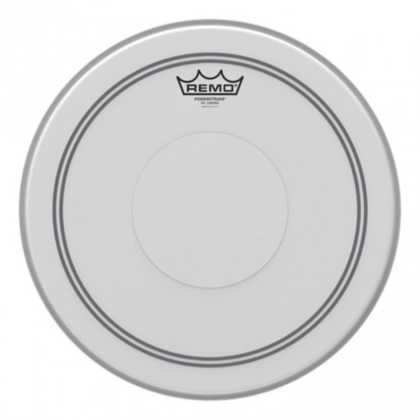 Remo Remo Coated Powerstroke 3 w/ Clear Dot on Top