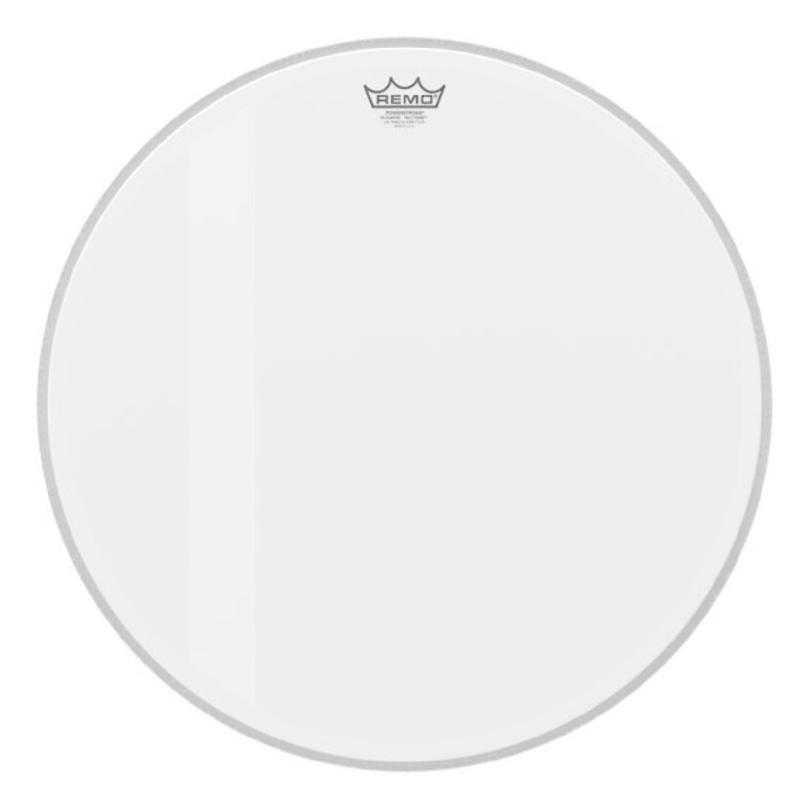Remo Remo Clear Powerstroke 3 Feltone Bass Drum