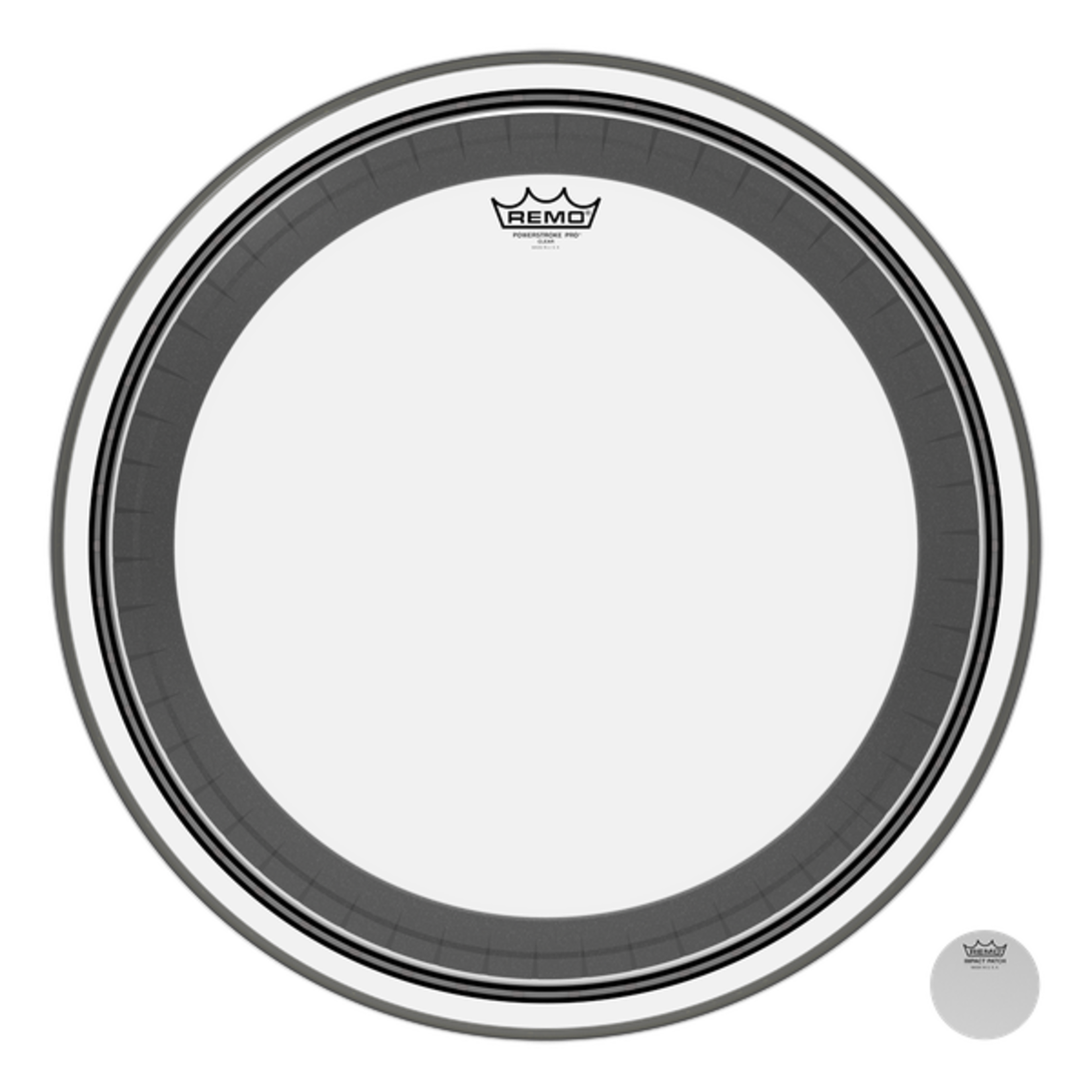 Remo Remo Clear Powerstroke Pro Bass Drum