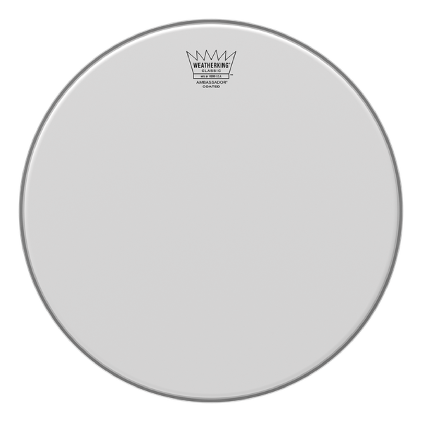 Remo Remo Classic Fit Coated Ambassador Bass Drum