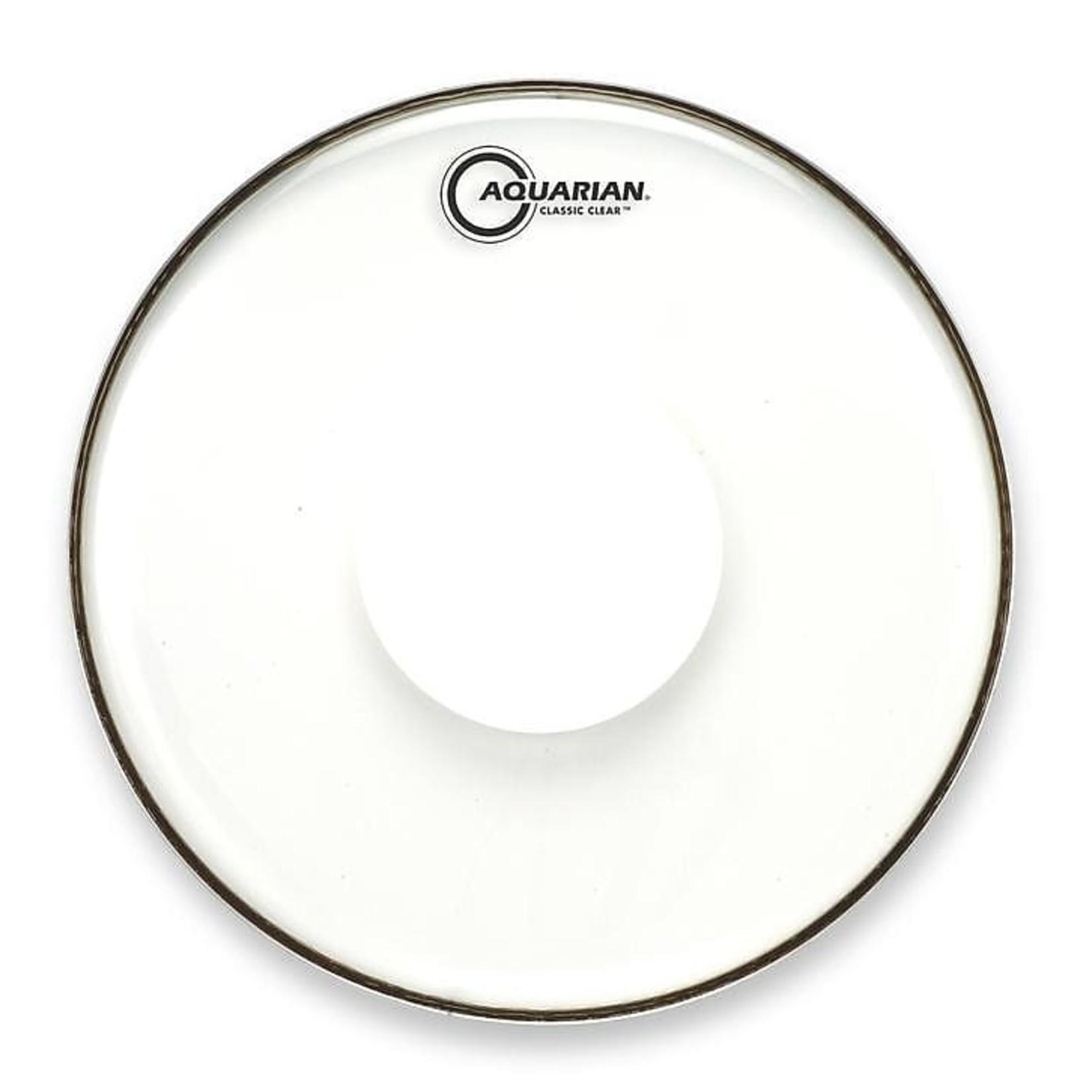 Aquarian Aquarian Classic Clear w/ Power Dot Bass Drum