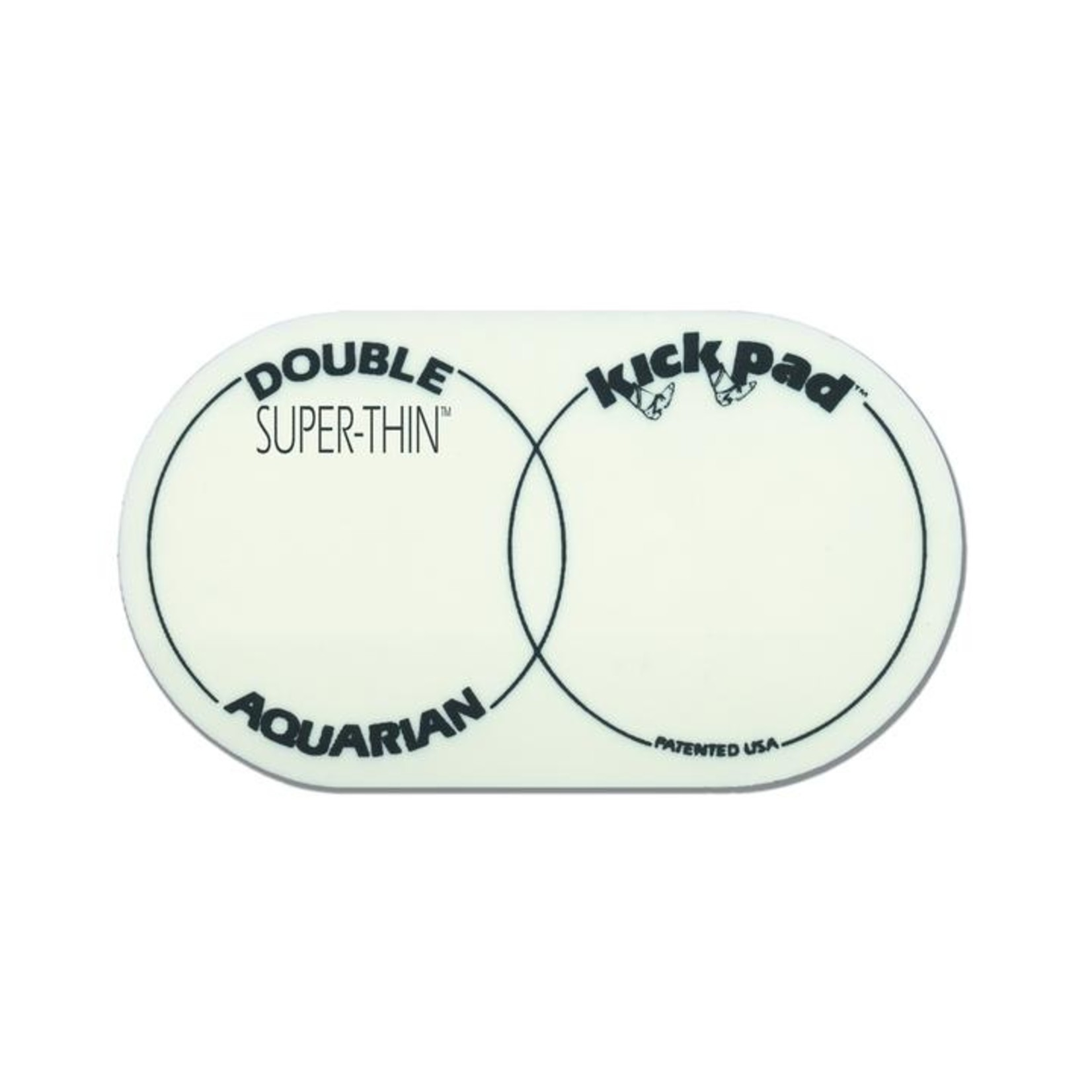 Aquarian Aquarian Thin Double Kick Pad
