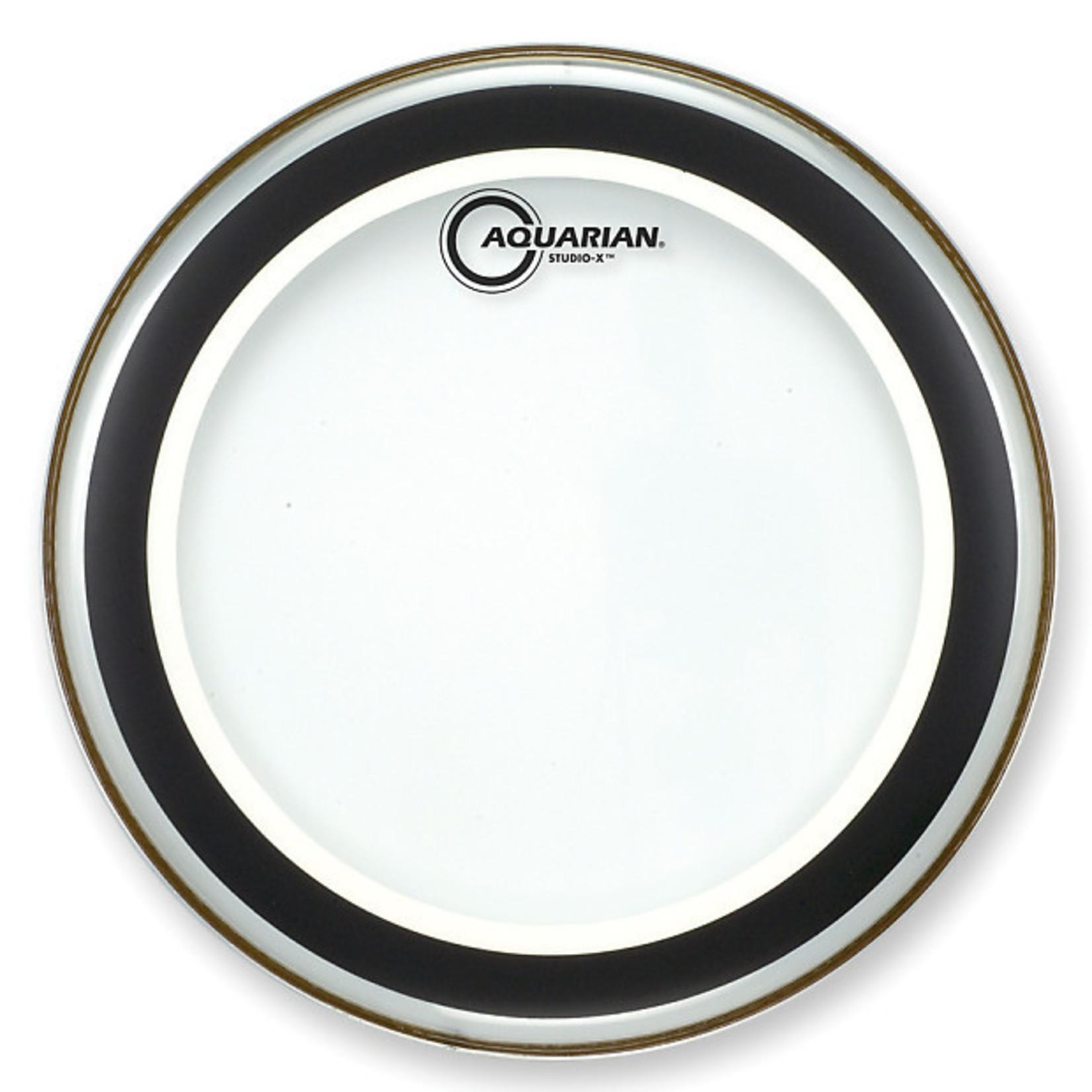 Aquarian Aquarian Studio X Clear Bass Drum