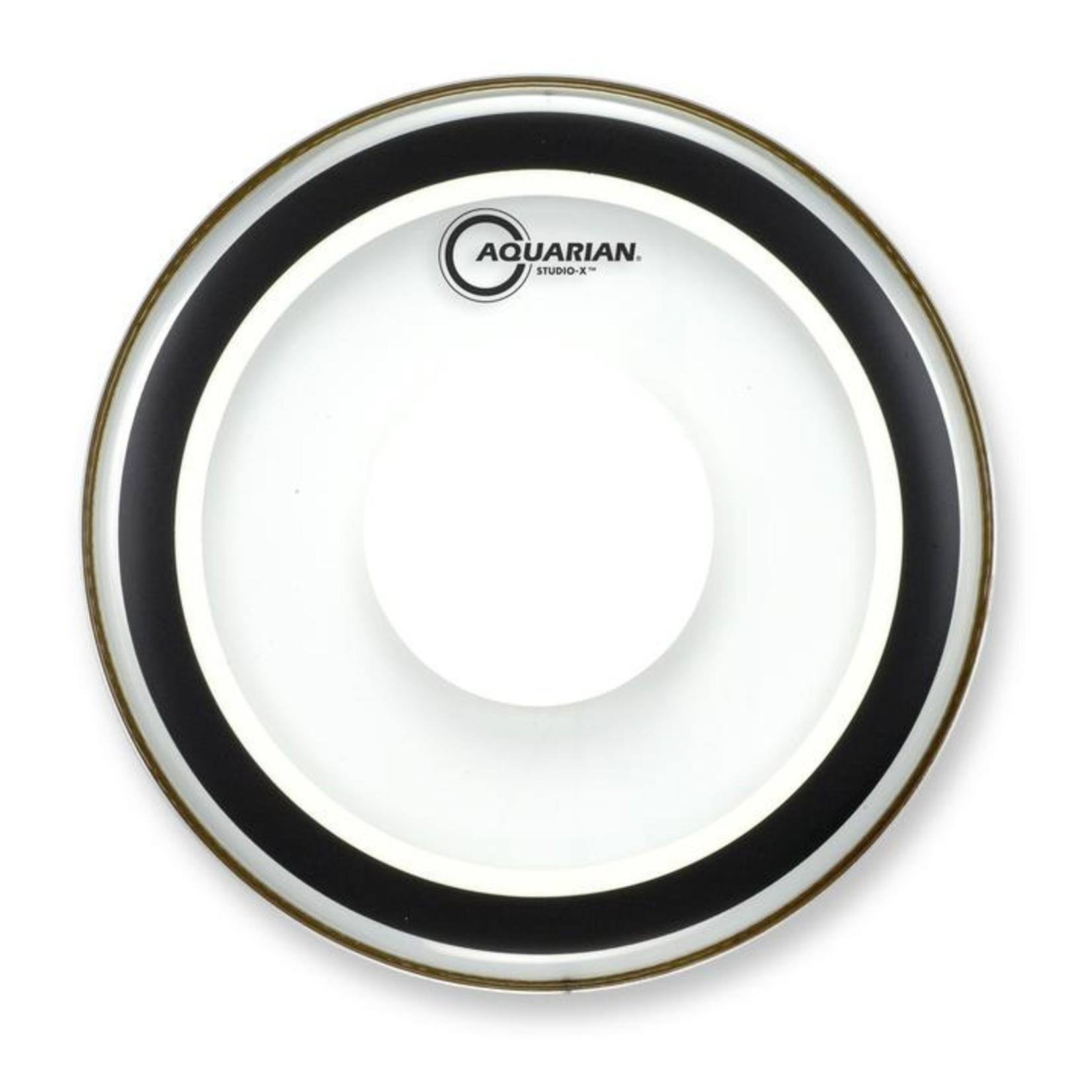 Aquarian Aquarian Studio X Clear w/ Power Dot Bass Drum