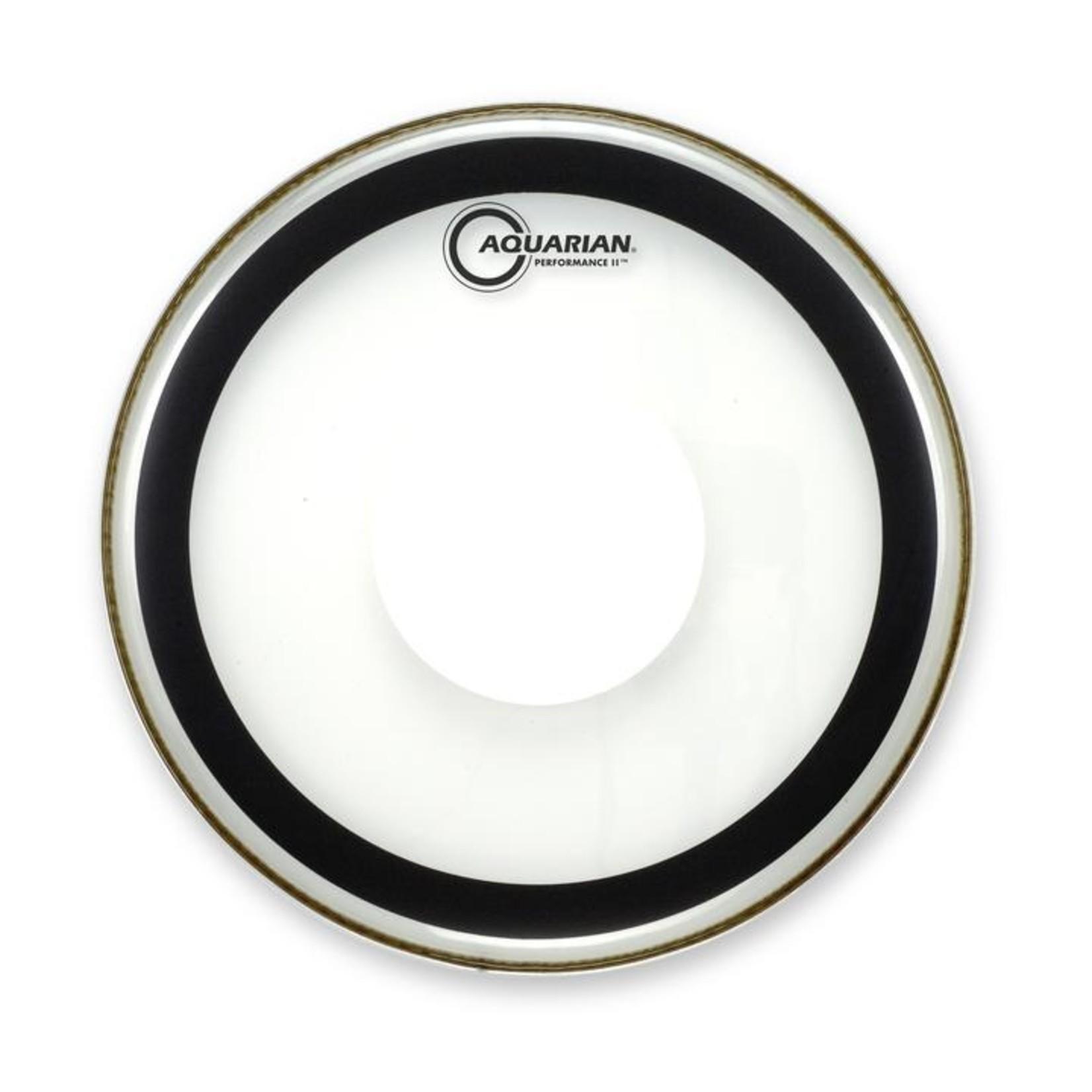 Aquarian Aquarian Performance 2 Clear w/ Power Dot Bass Drum