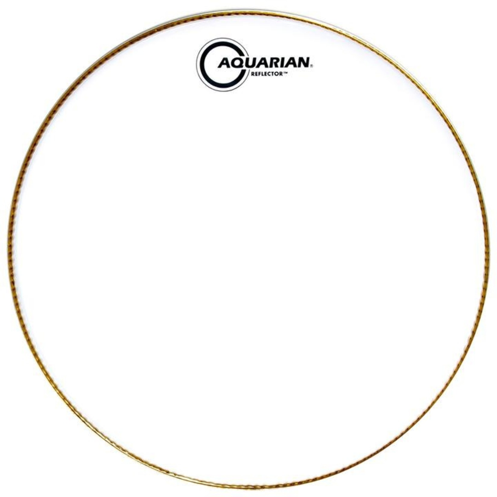 Aquarian Aquarian Reflector Ice White Bass Drum
