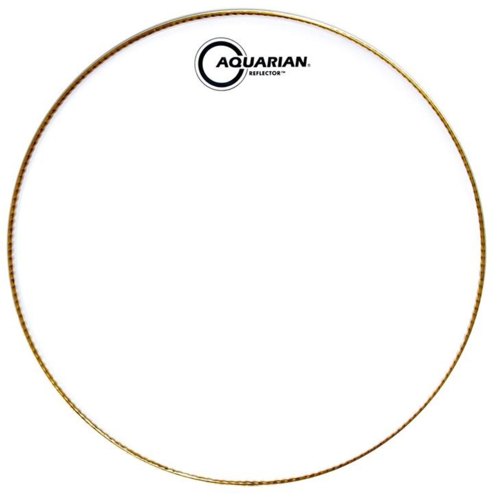 Aquarian Aquarian Reflector Ice White w/ Superkick Ring Bass Drum