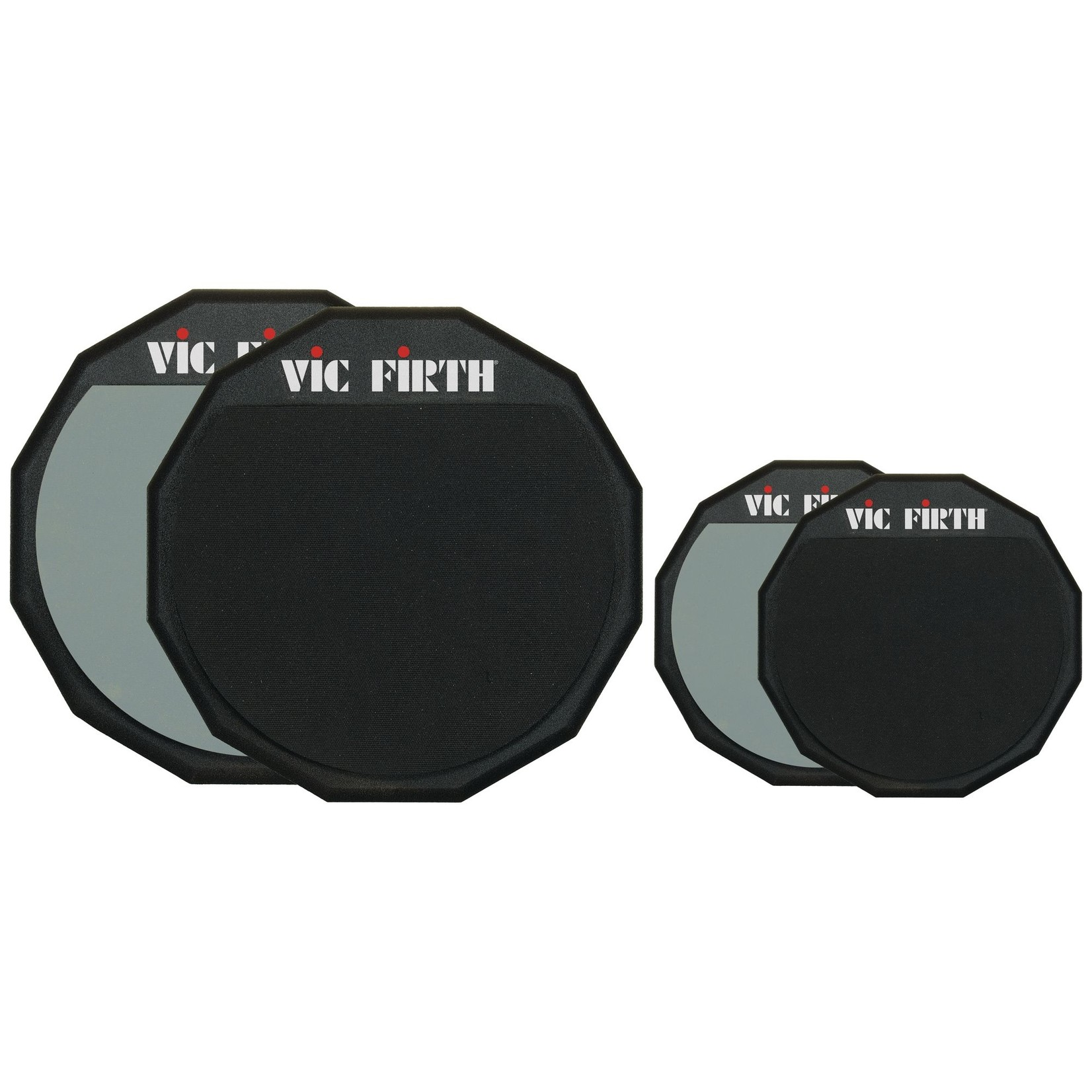 "Vic Firth Vic Firth 12"" Double-Sided Pratice Pad"