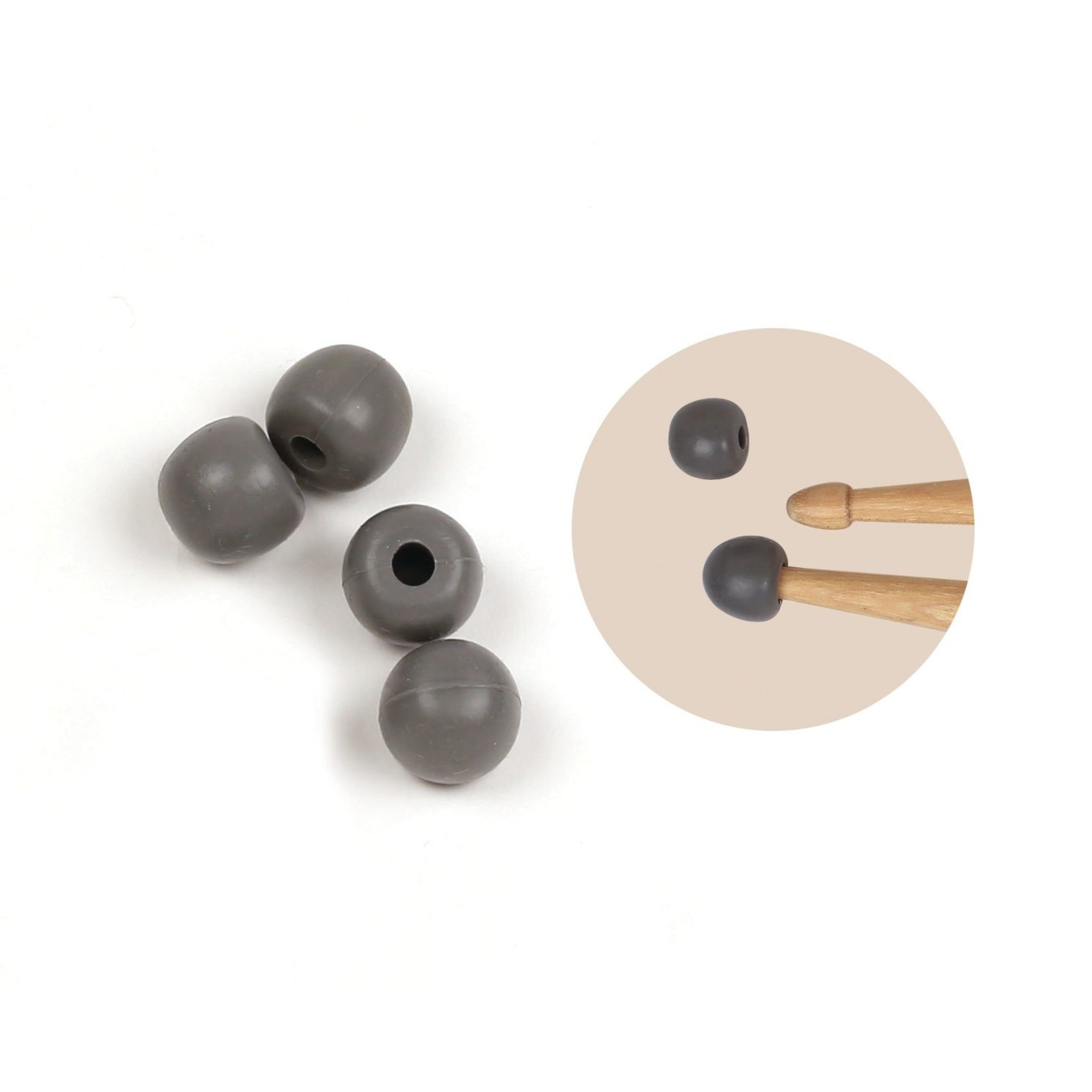Vic Firth Vic Firth Universal Practice Tips (2 Pairs per Bag)