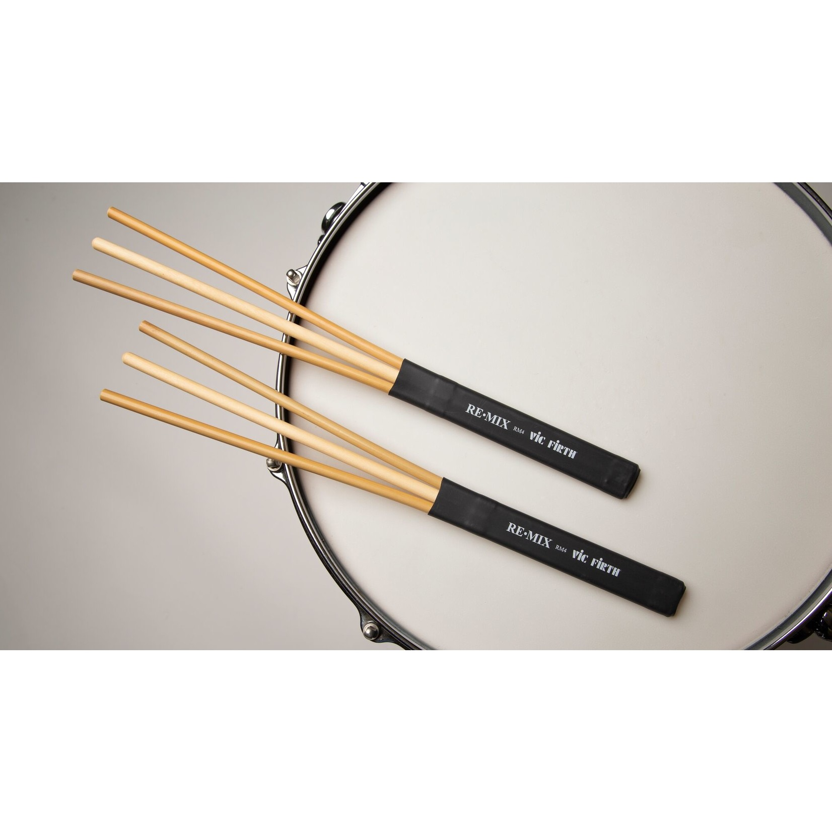 Vic Firth Vic Firth RE.MIX Brushes, Rattan/Birch