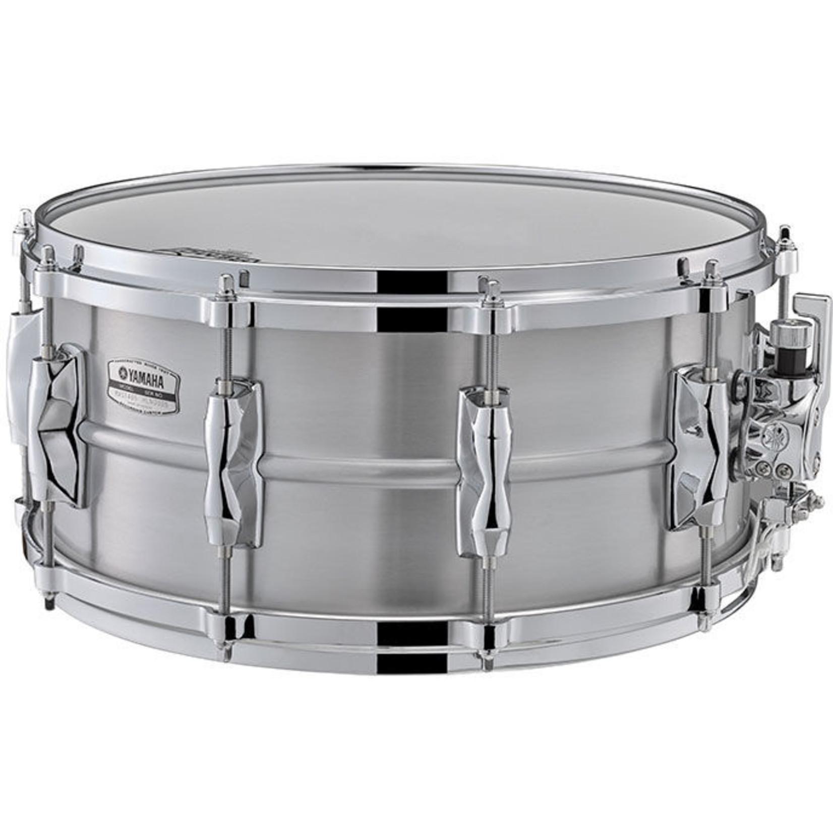 "Yamaha Yamaha 6.5x14 Recording Custom ""Aluminum"" Snare Drum"