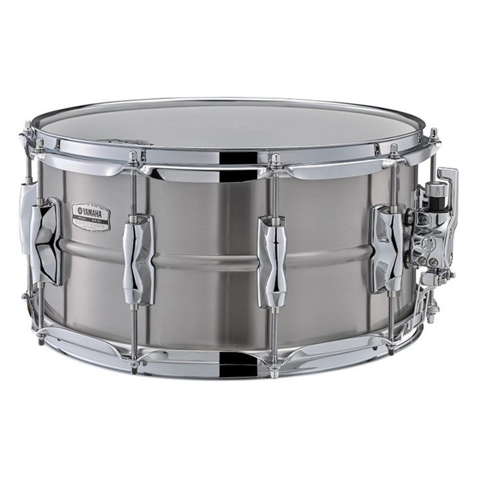 "Yamaha Yamaha 7x14 Recording Custom Snare Drum ""Stainless Steel"""