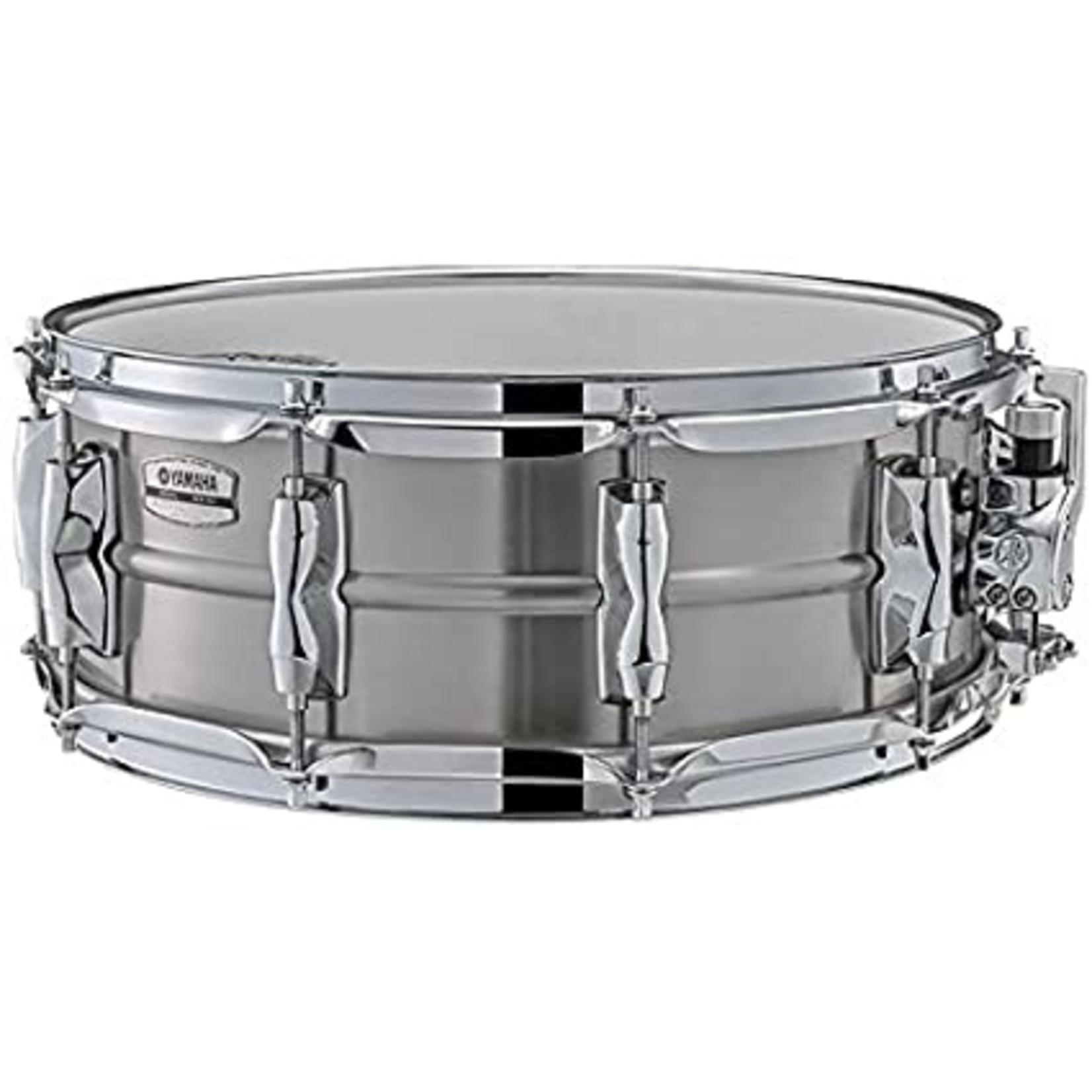 "Yamaha Yamaha 5.5x14 Recording Custom Snare Drum ""Stainless Steel"""