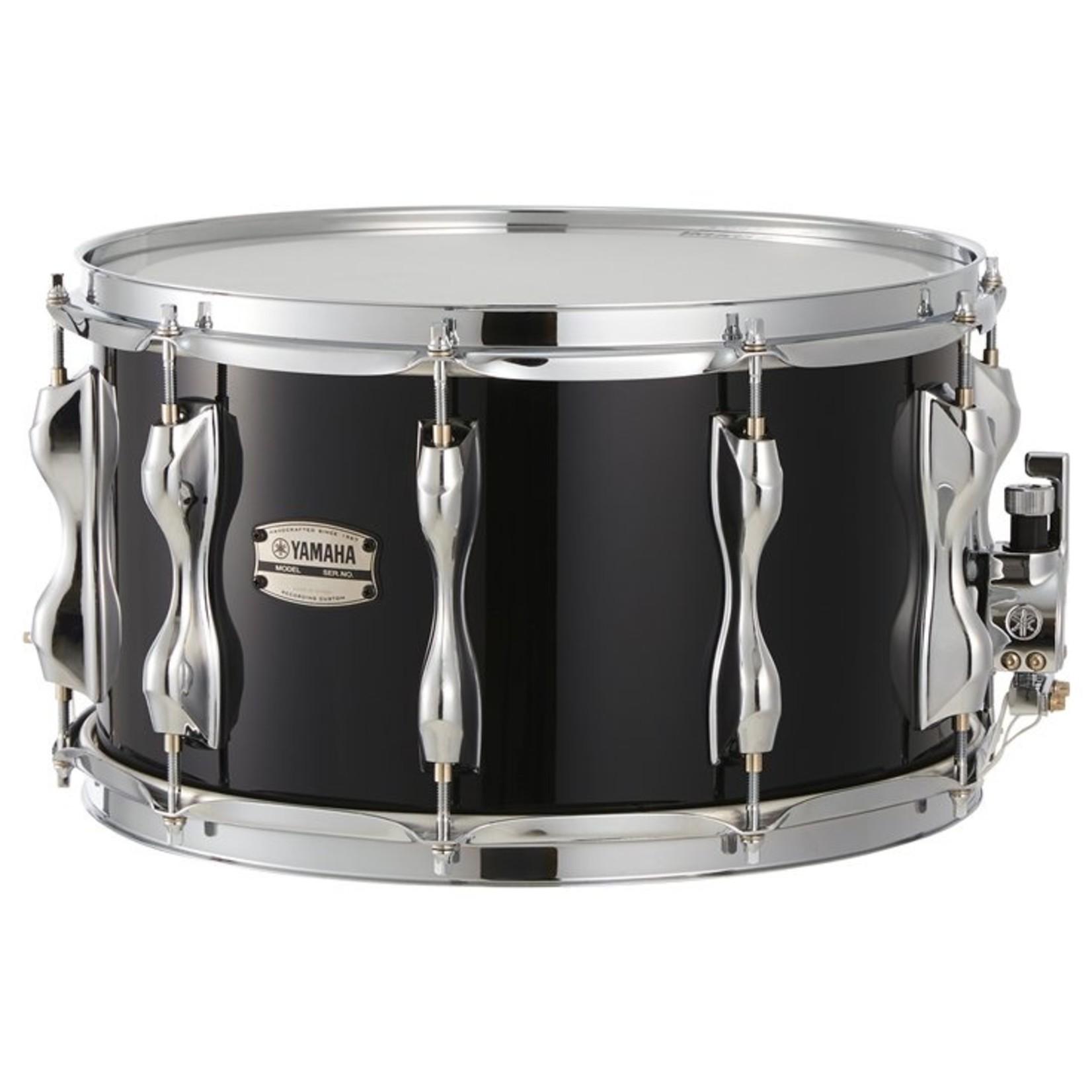 "Yamaha Yamaha 8x14 Recording Custom Snare Drum ""Solid Black"""