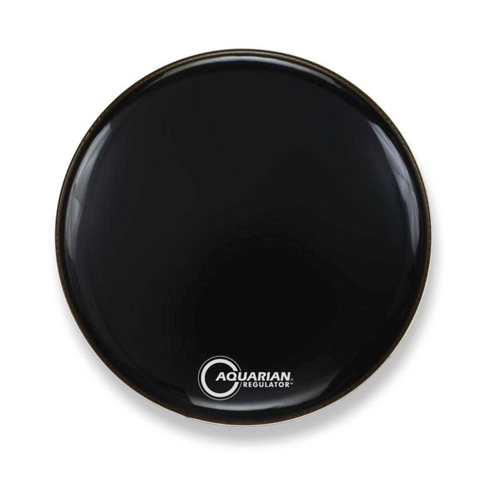 Aquarian Aquarian Regulator Black Video Gloss Bass Drum