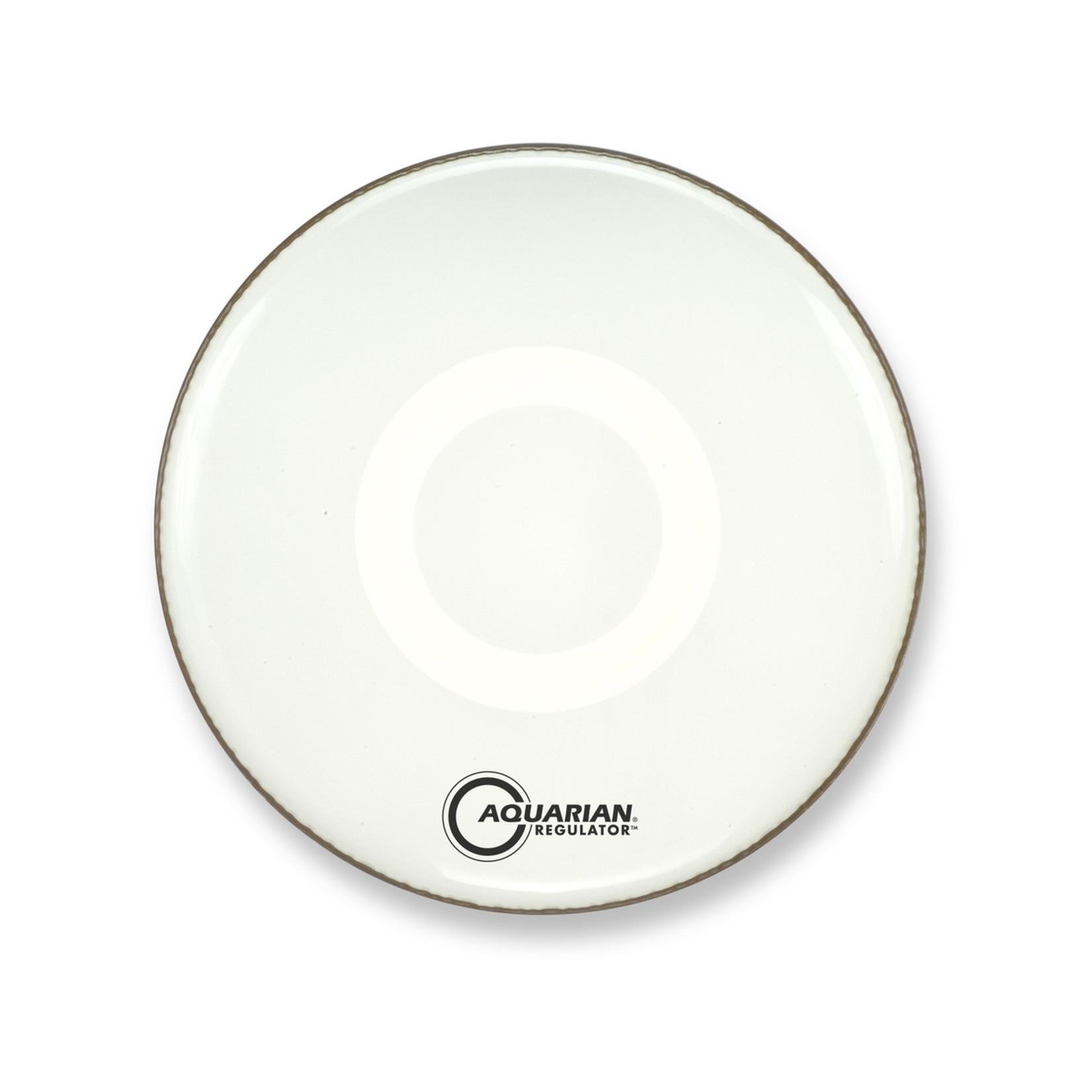 Aquarian Aquarian Regulator White Video Gloss Bass Drum