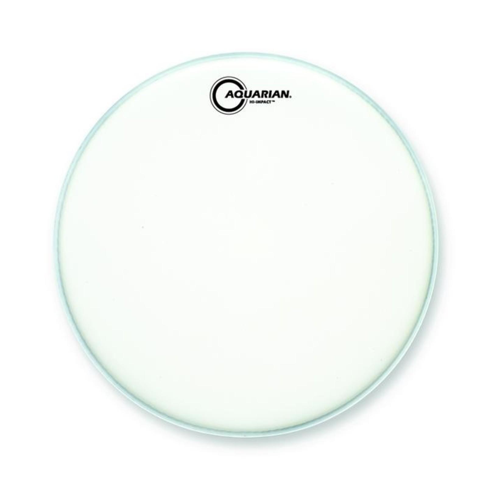 Aquarian Aquarian Hi-Impact White Texture Coated Heavy w/ Reverse Power Dot