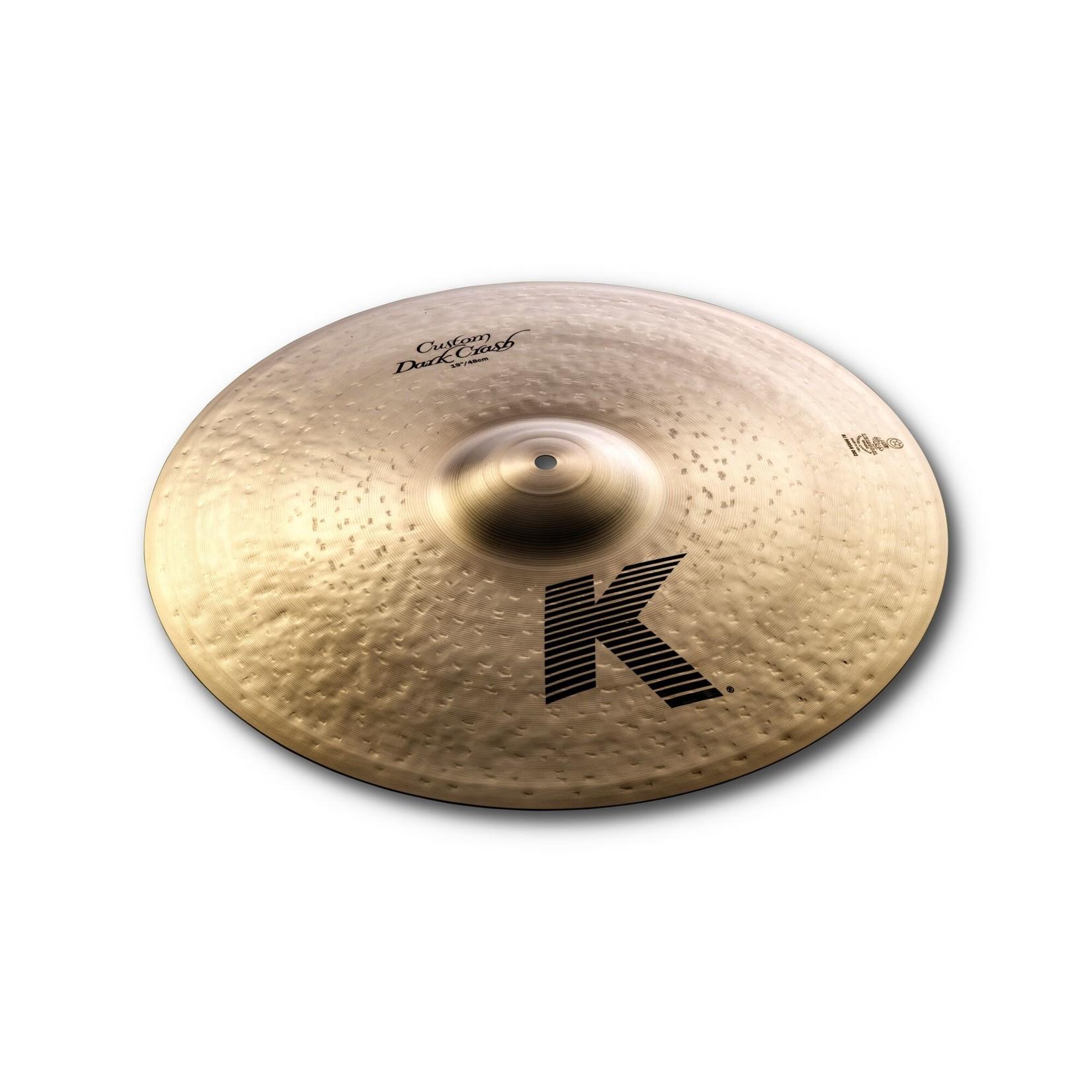 """Zildjian Zildjian 19"""" K Custom Dark Crash"""