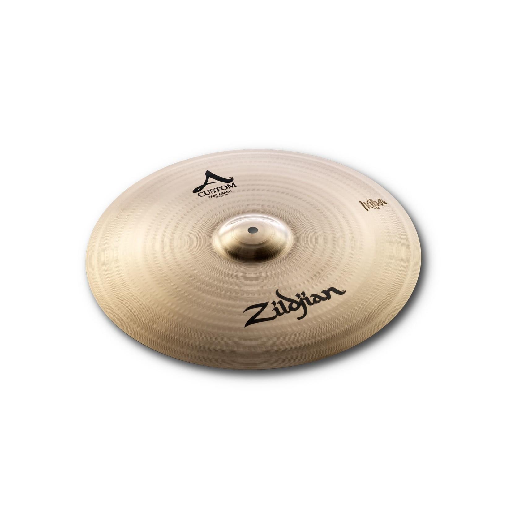 "Zildjian Zildjian 17"" A Custom Fast Crash"