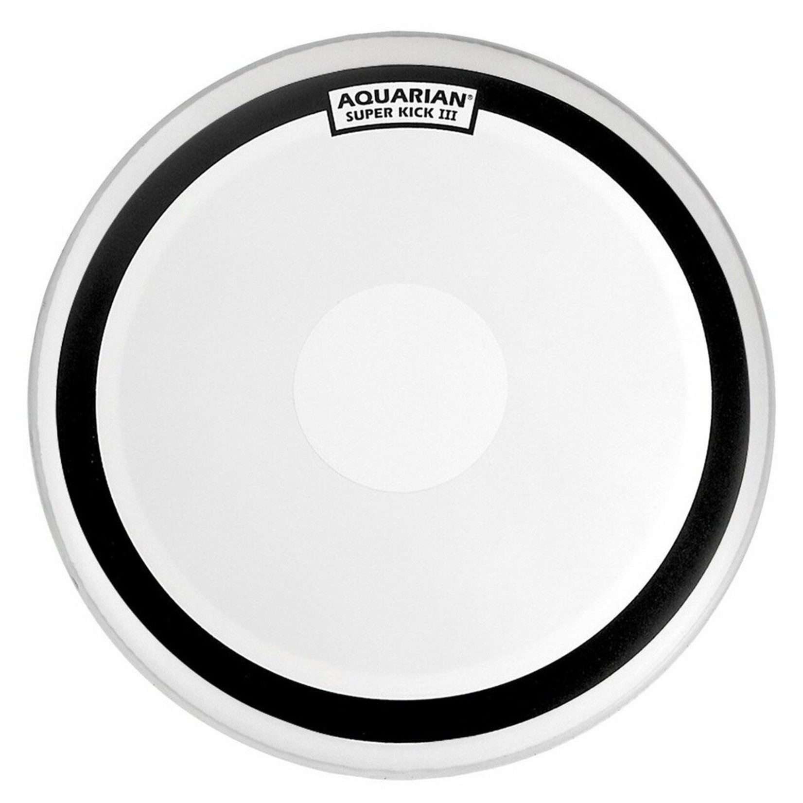 Aquarian Aquarian Superkick III White Texture Coated Bass Drum