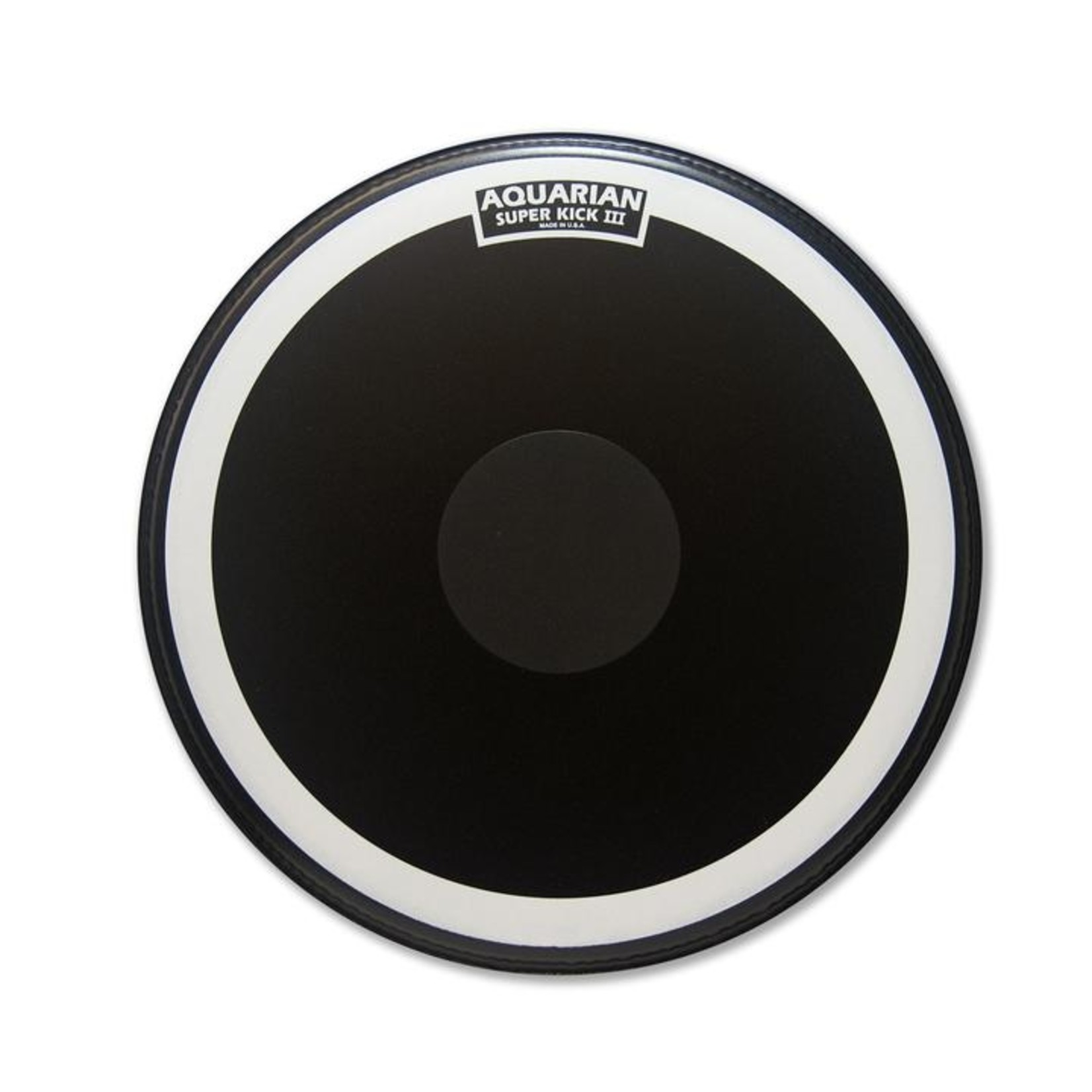 Aquarian Aquarian Superkick III Black Texture Coated Bass Drum