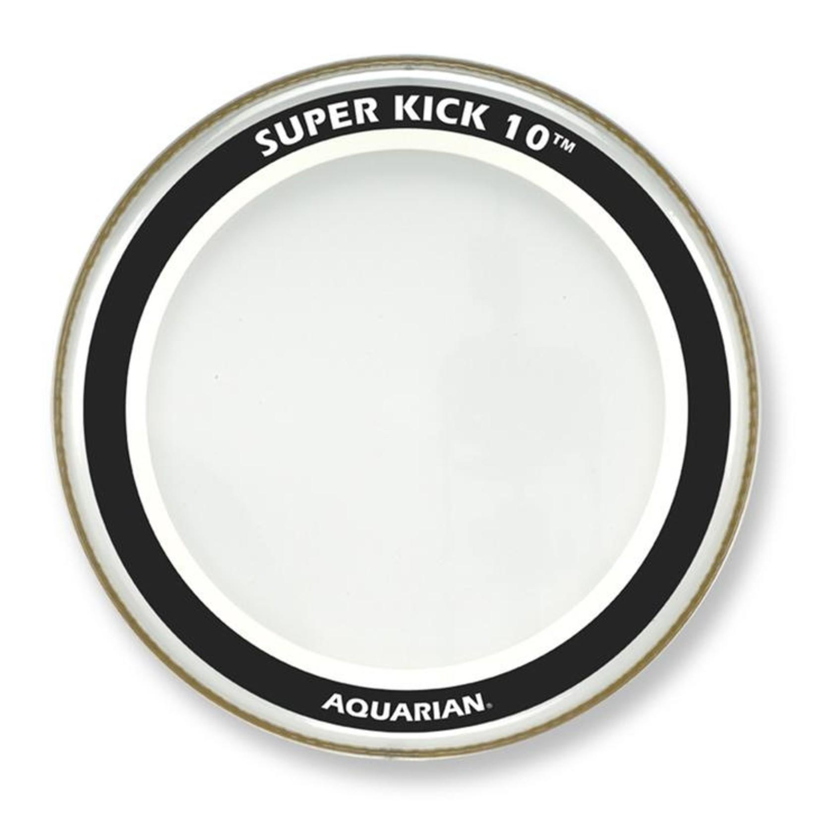 Aquarian Aquarian Superkick 10 Clear Bass Drum