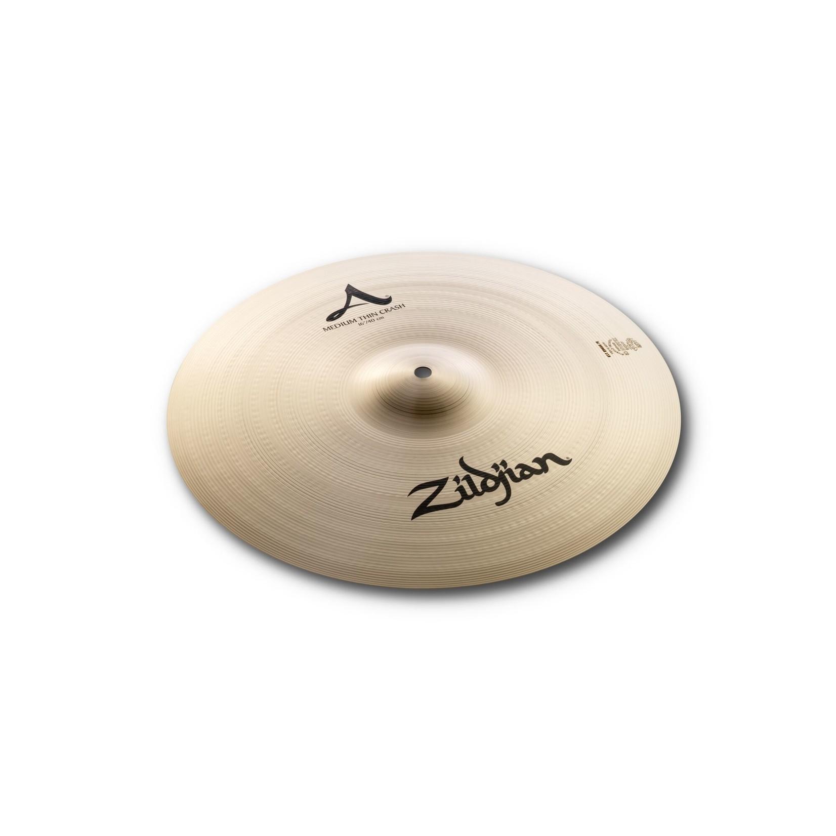 """Zildjian Zildjian 16"""" A Zildjian Medium Thin Crash"""