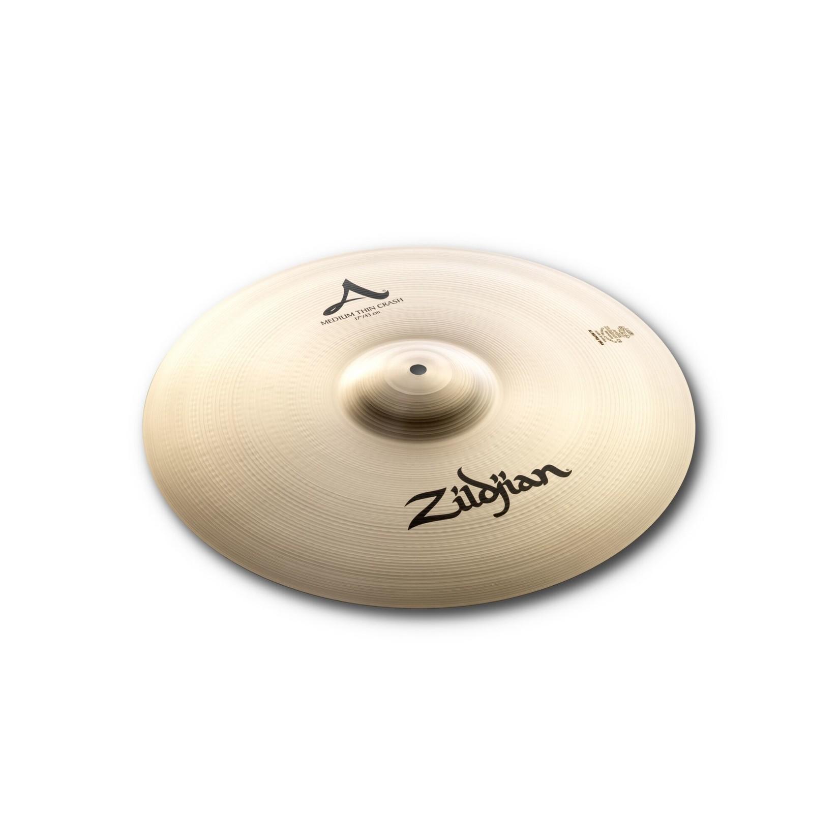 """Zildjian Zildjian 17"""" A Zildjian Medium Thin Crash"""