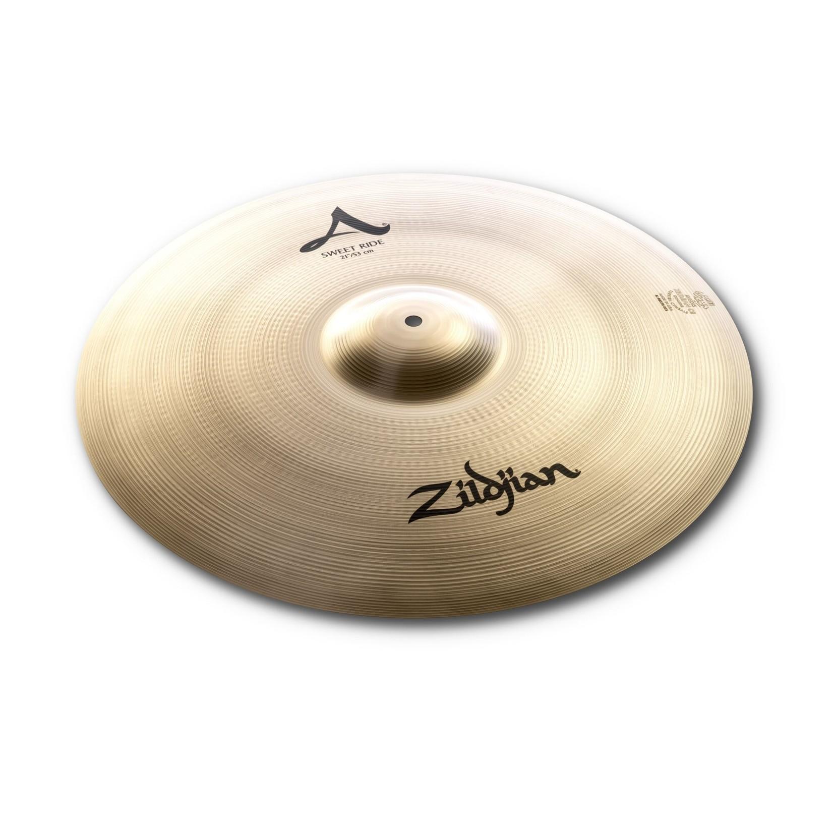 """Zildjian Zildjian 21"""" A Zildjian Sweet Ride, Brilliant"""