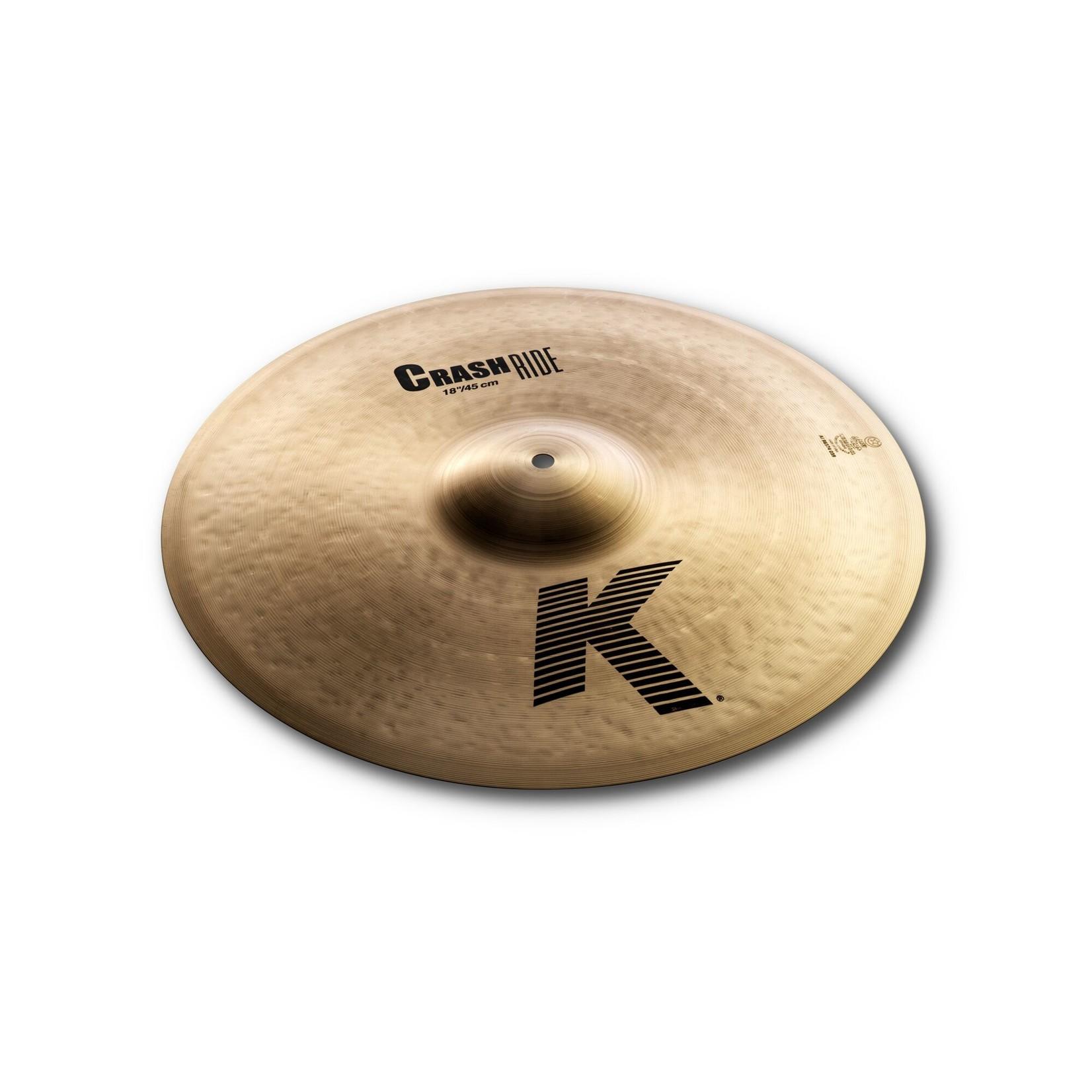 """Zildjian Zildjian 18"""" K Crash Ride"""