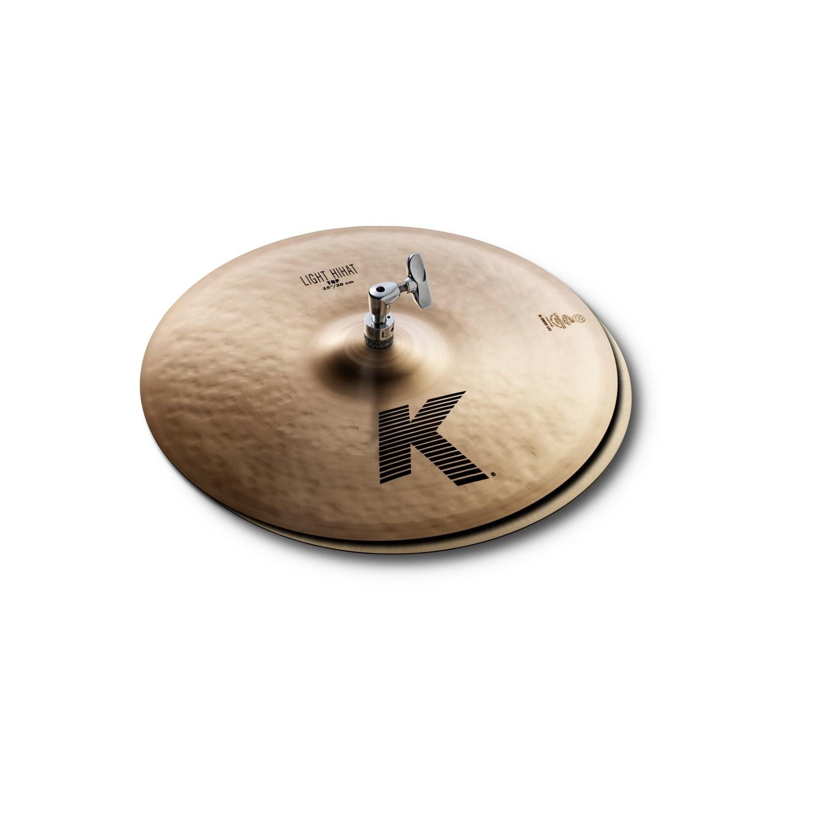 """Zildjian Zildjian 15"""" K Light HiHats - Pair"""