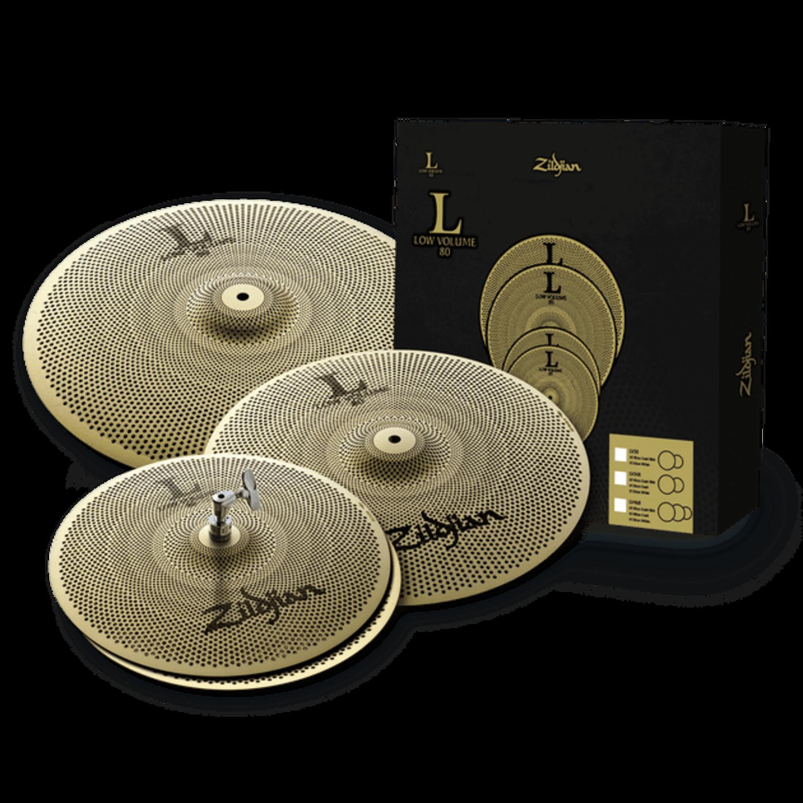 Zildjian Zildjian L80 Low Volume Cymbal Pack - LV468