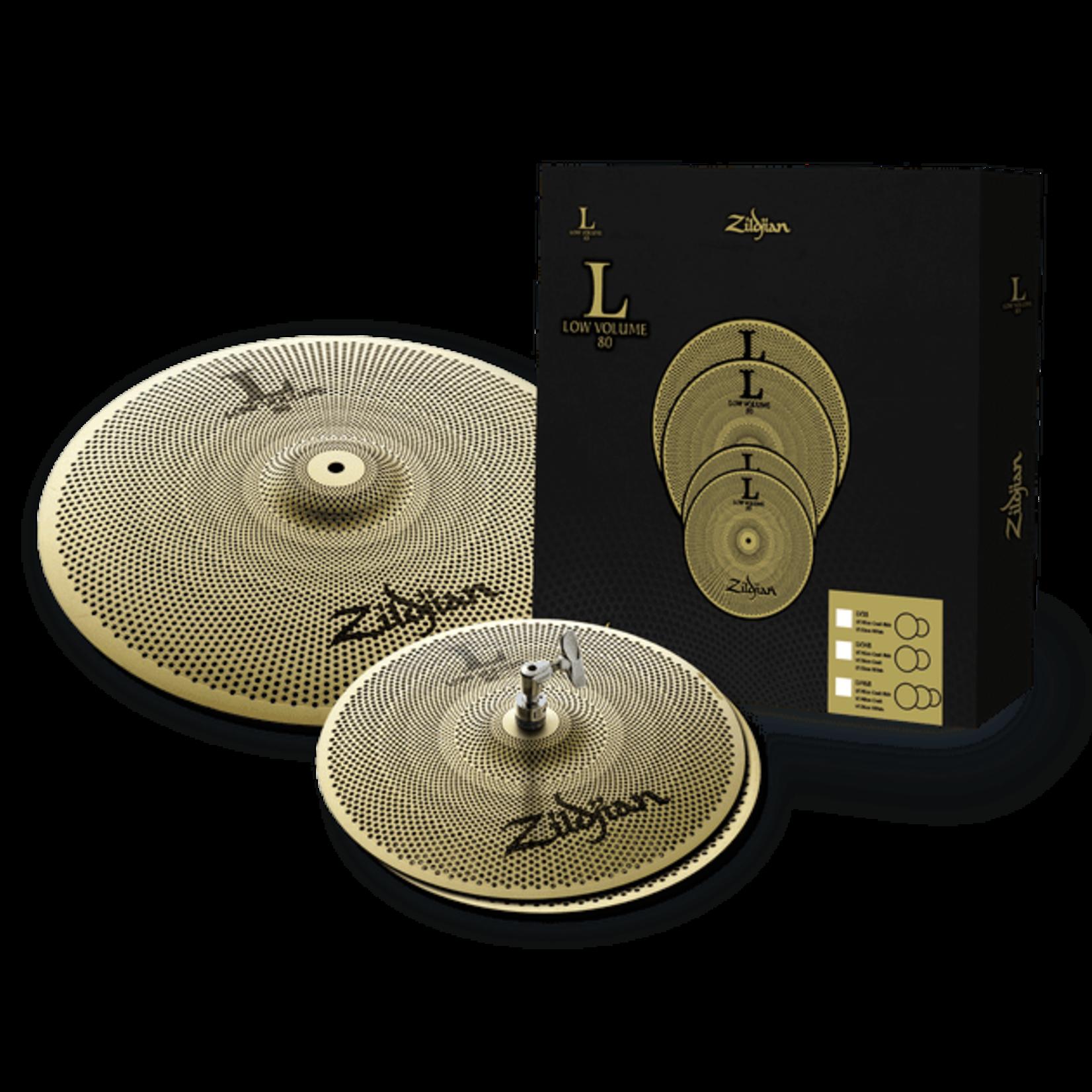 Zildjian Zildjian L80 Low Volume Cymbal Pack - LV38