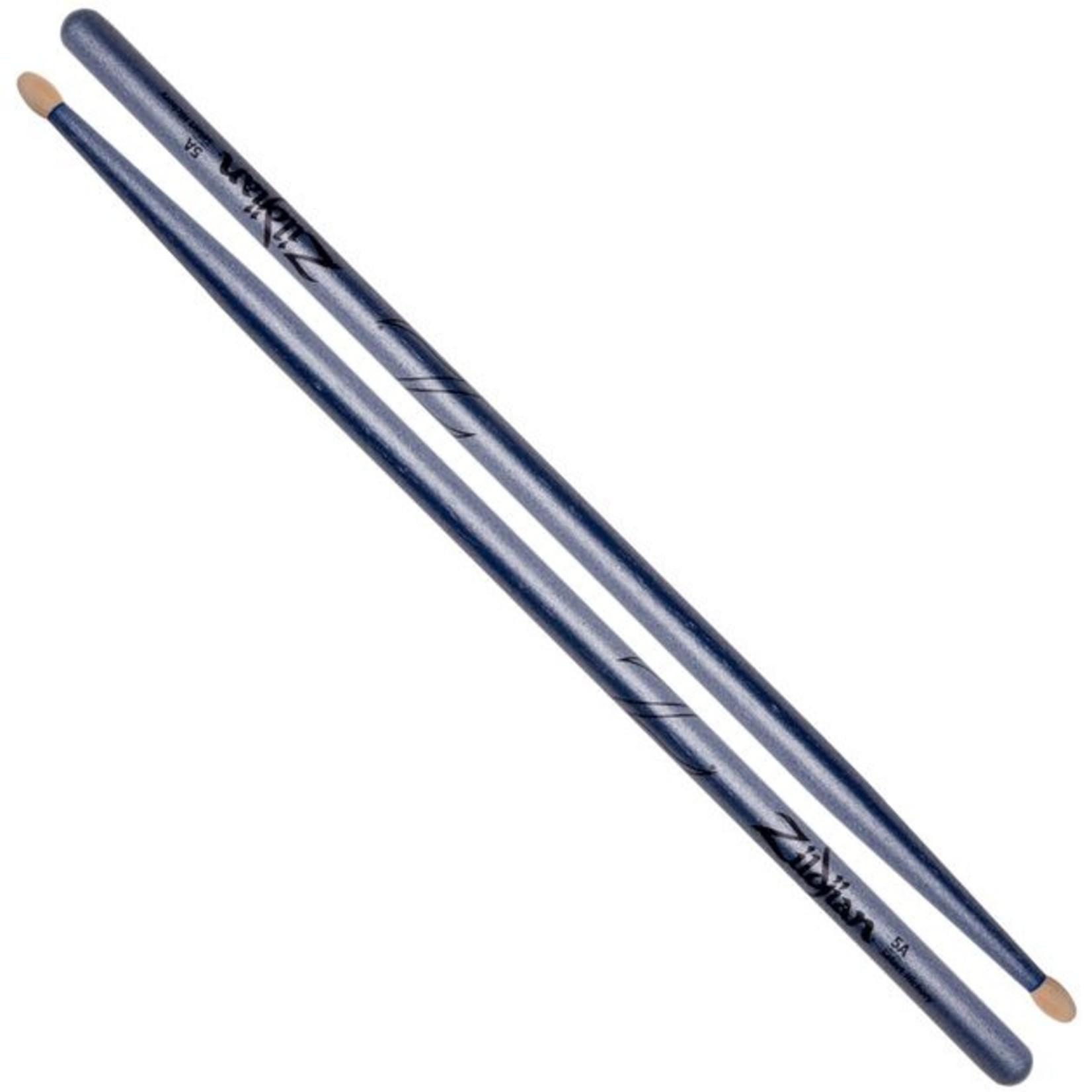 Zildjian Zildjian 5A Chroma Blue Drumsticks