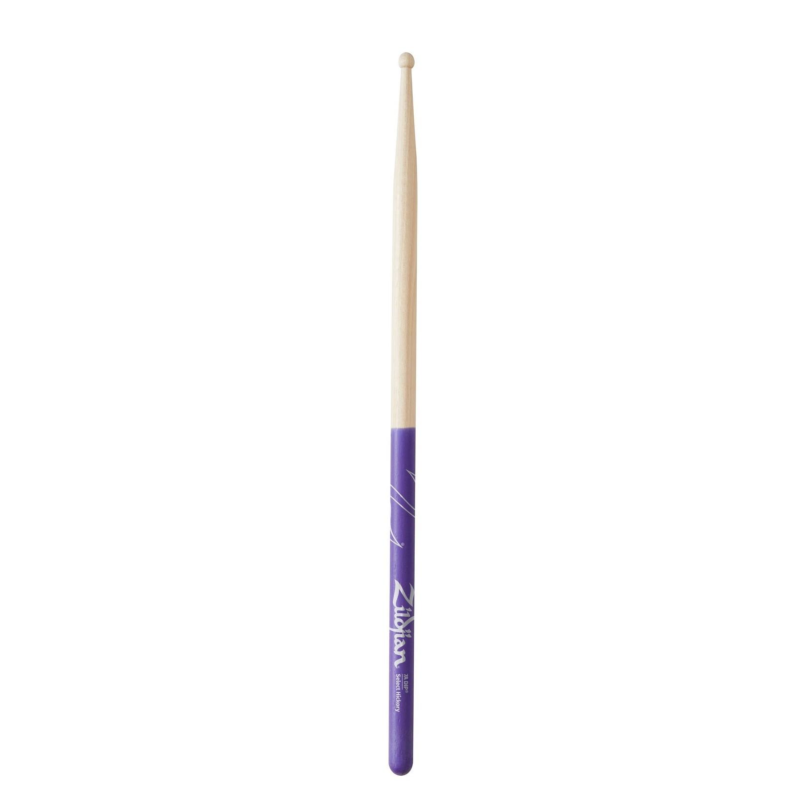 Zildjian Zildjian 7A Purple DIP Drumsticks