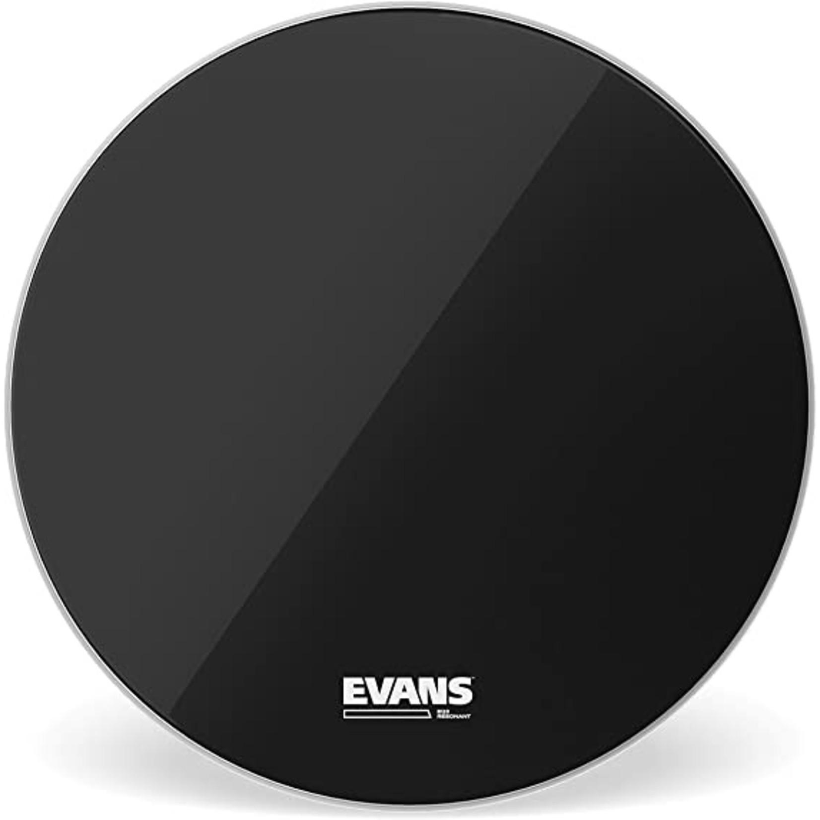 "Evans Evans Black EQ3 Tom Reso No Port 16"""