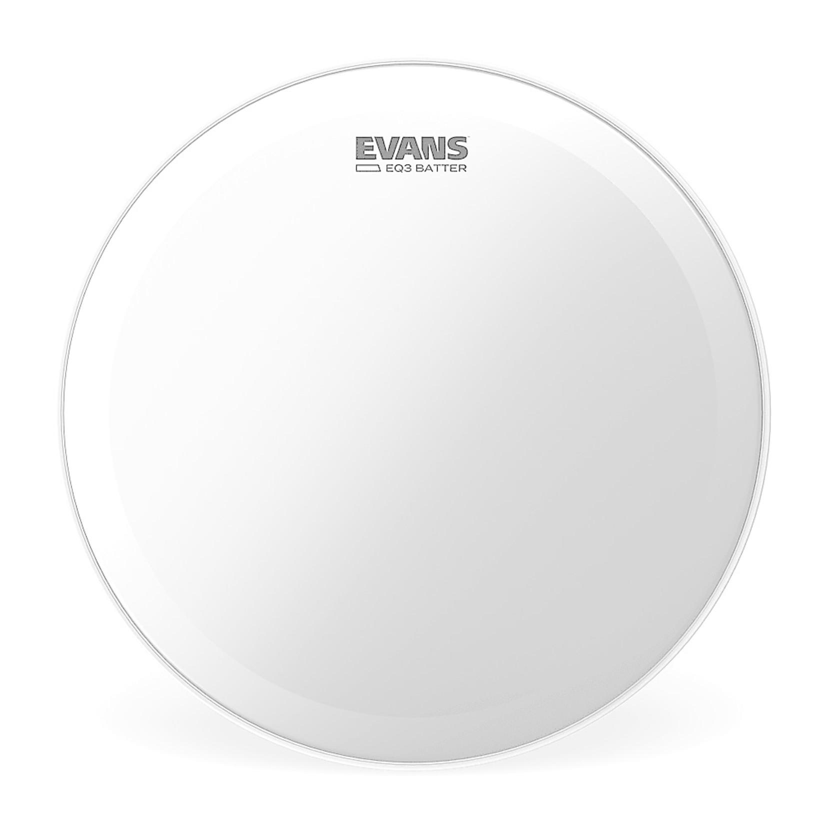 Evans Evans Coated EQ3 Bass Drum Batter