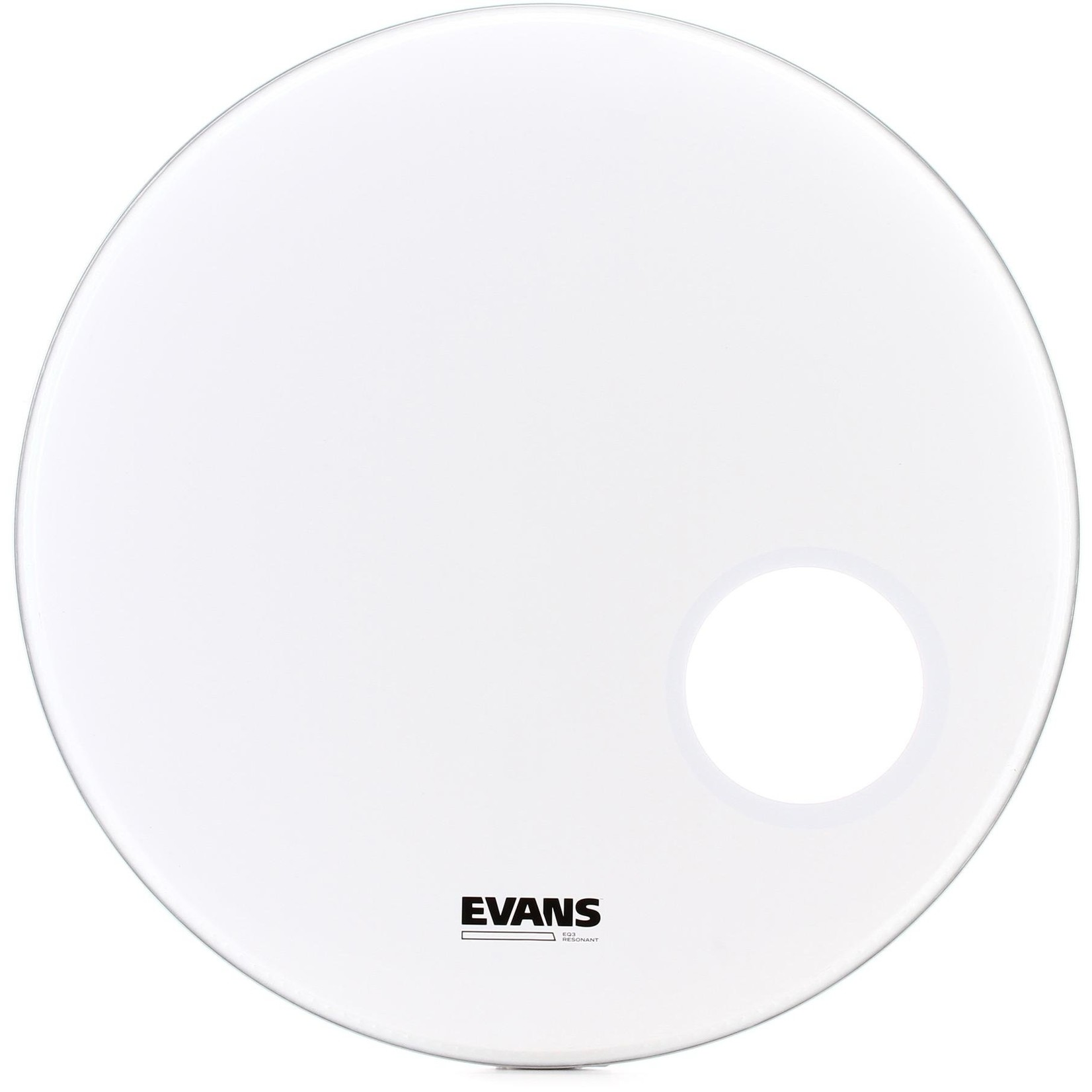 Evans Evans Smooth White EQ3 Bass Drum Reso