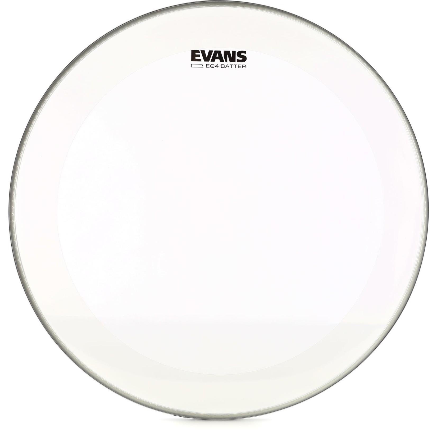 Evans Evans Clear EQ4 Bass Drum Batter