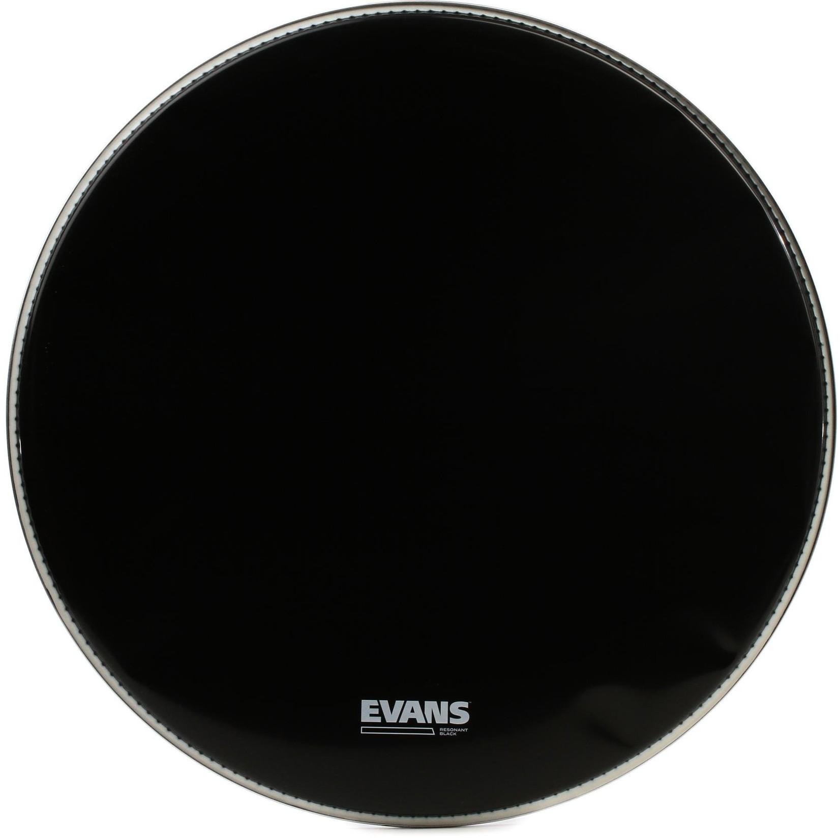 Evans Evans Reso Black Bass Drum