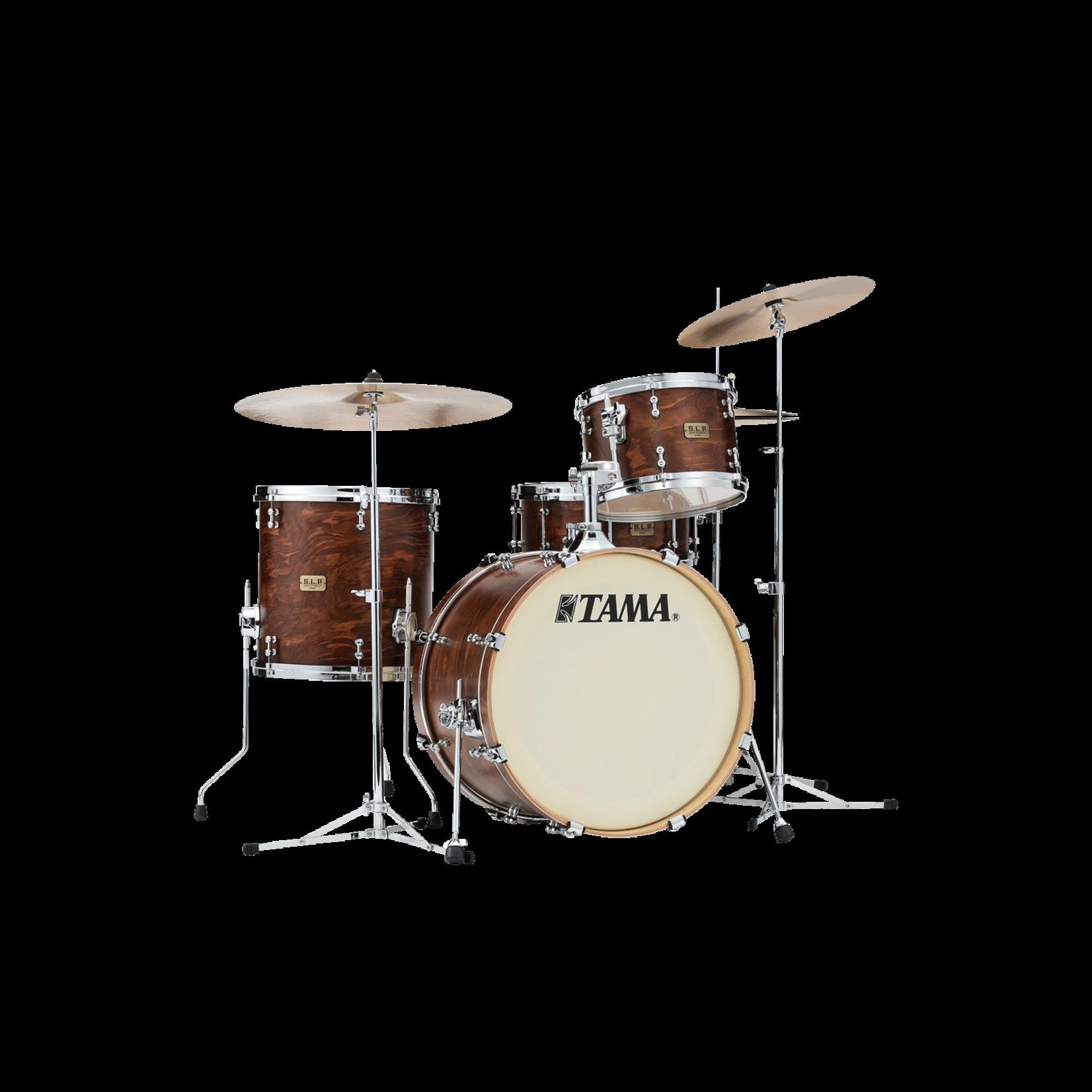 "Tama SLP Spruce 3pc Drum Kit ""Wild Satin Spruce"""