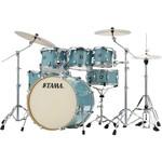 "Tama Tama Superstar Classic Maple 7pc Drum Kit ""Light Emerald Blue Green"""