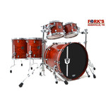 "Mapex Mapex 30th Anniversary Modern Classic 5pc Drum Kit ""Garnet Flame"""