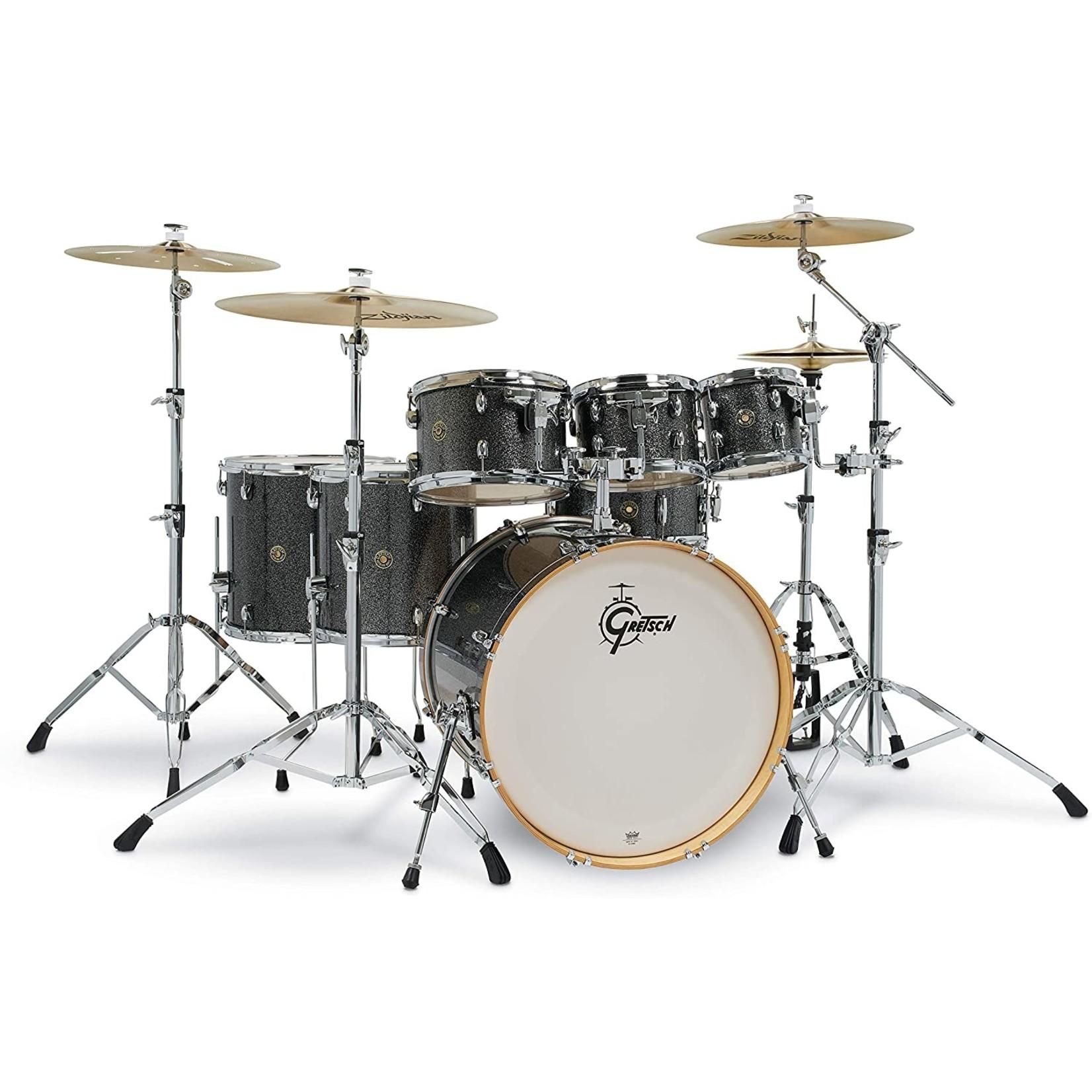 """Gretsch Gretsch Catalina Maple 7pc Drum Kit """"Black Stardust"""""""